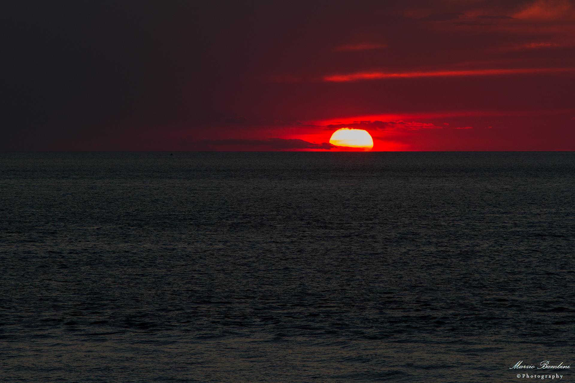 Sunset in Salento...
