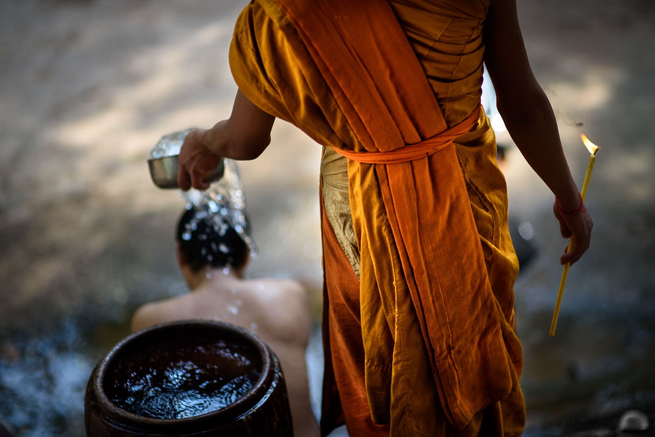 Water Blessing...