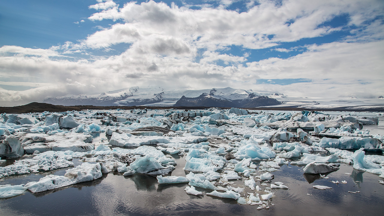 Laguna glaciale...