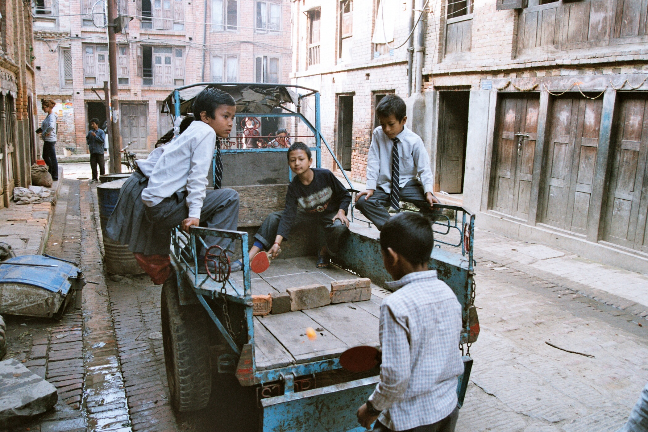 Ping pong in Nepal...