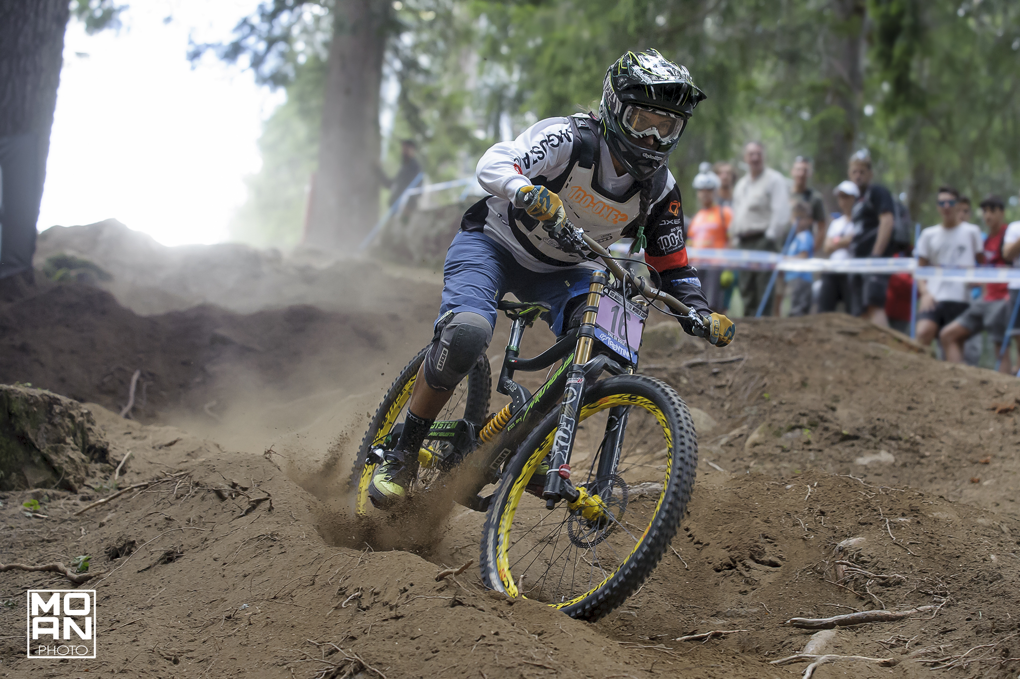 World Cup DownHill Val di Sole 2015...