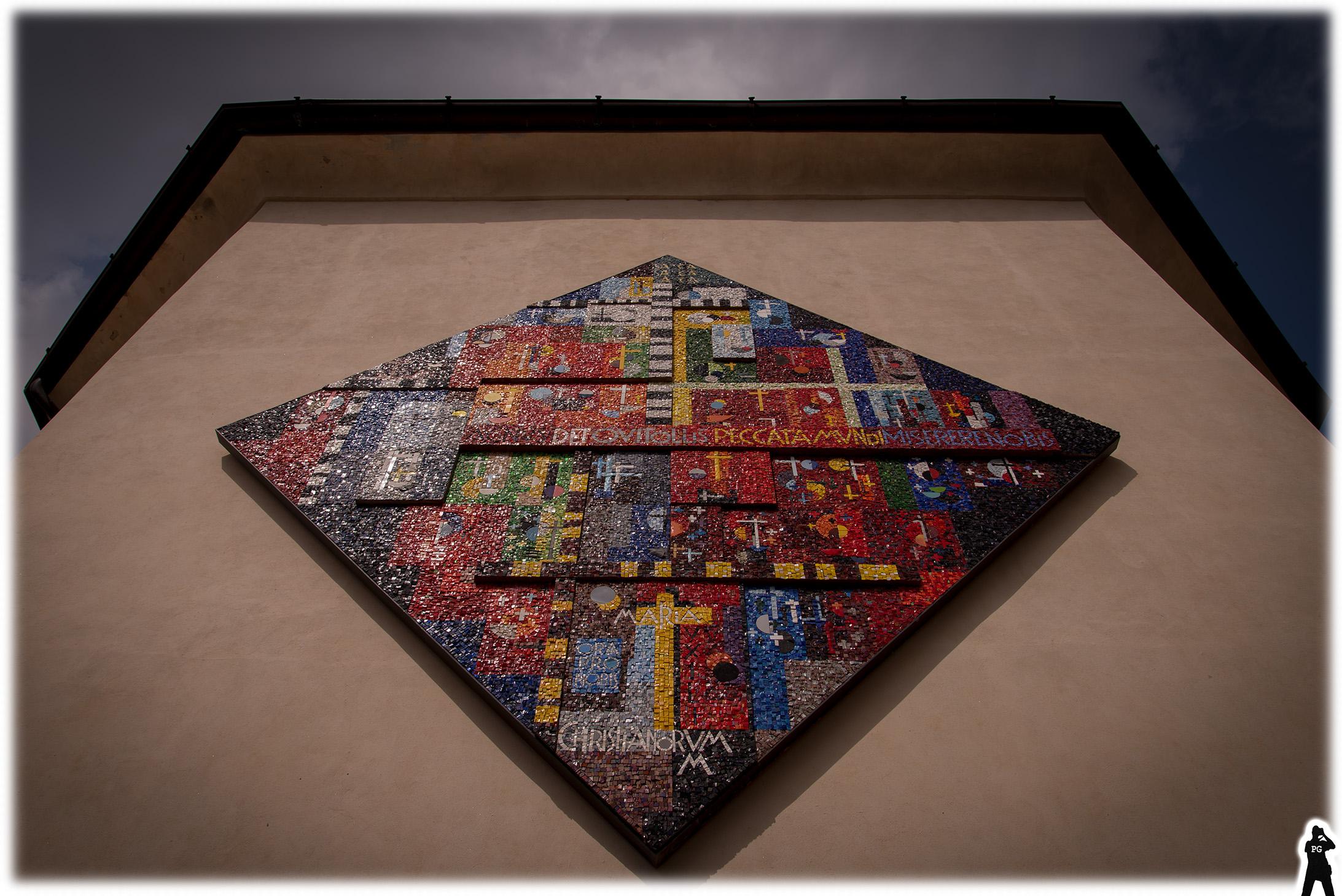 Mosaic to heaven...