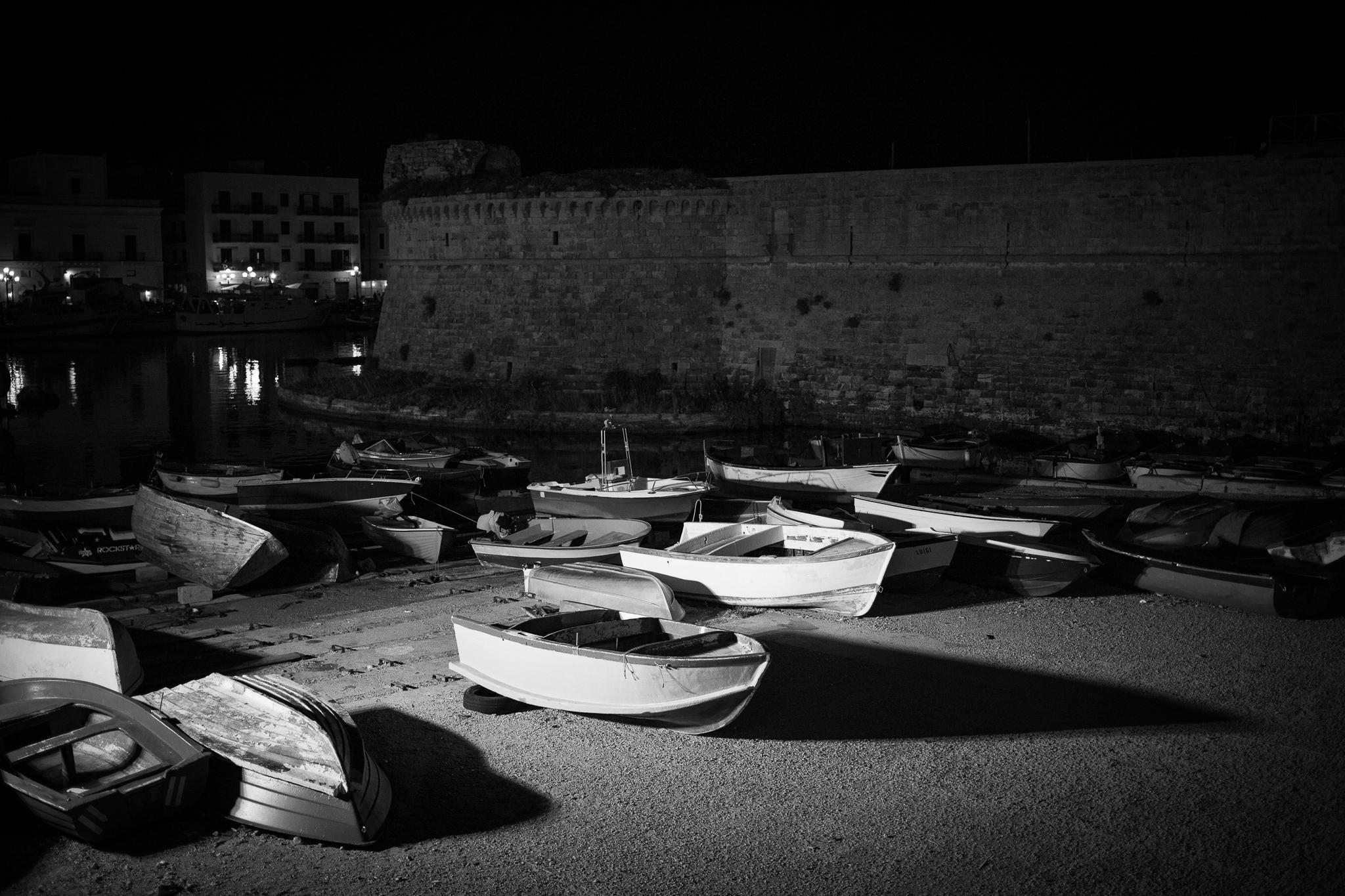 Boats stranded...
