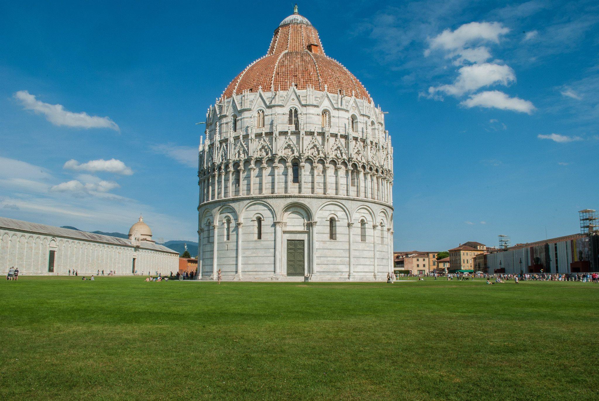 Pisa Baptistry of St. John...