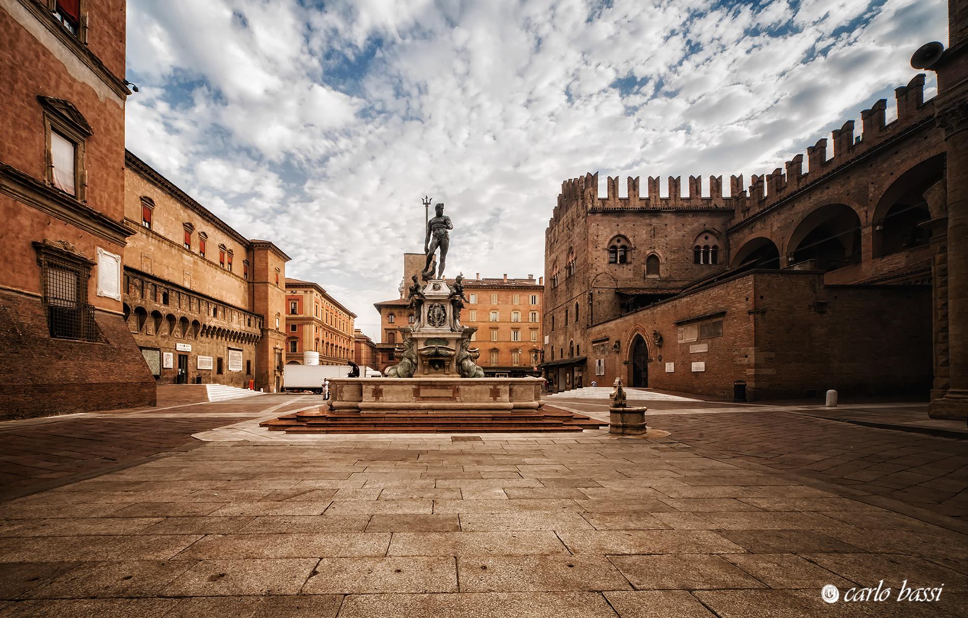 Bologna, Fountain of Neptune...