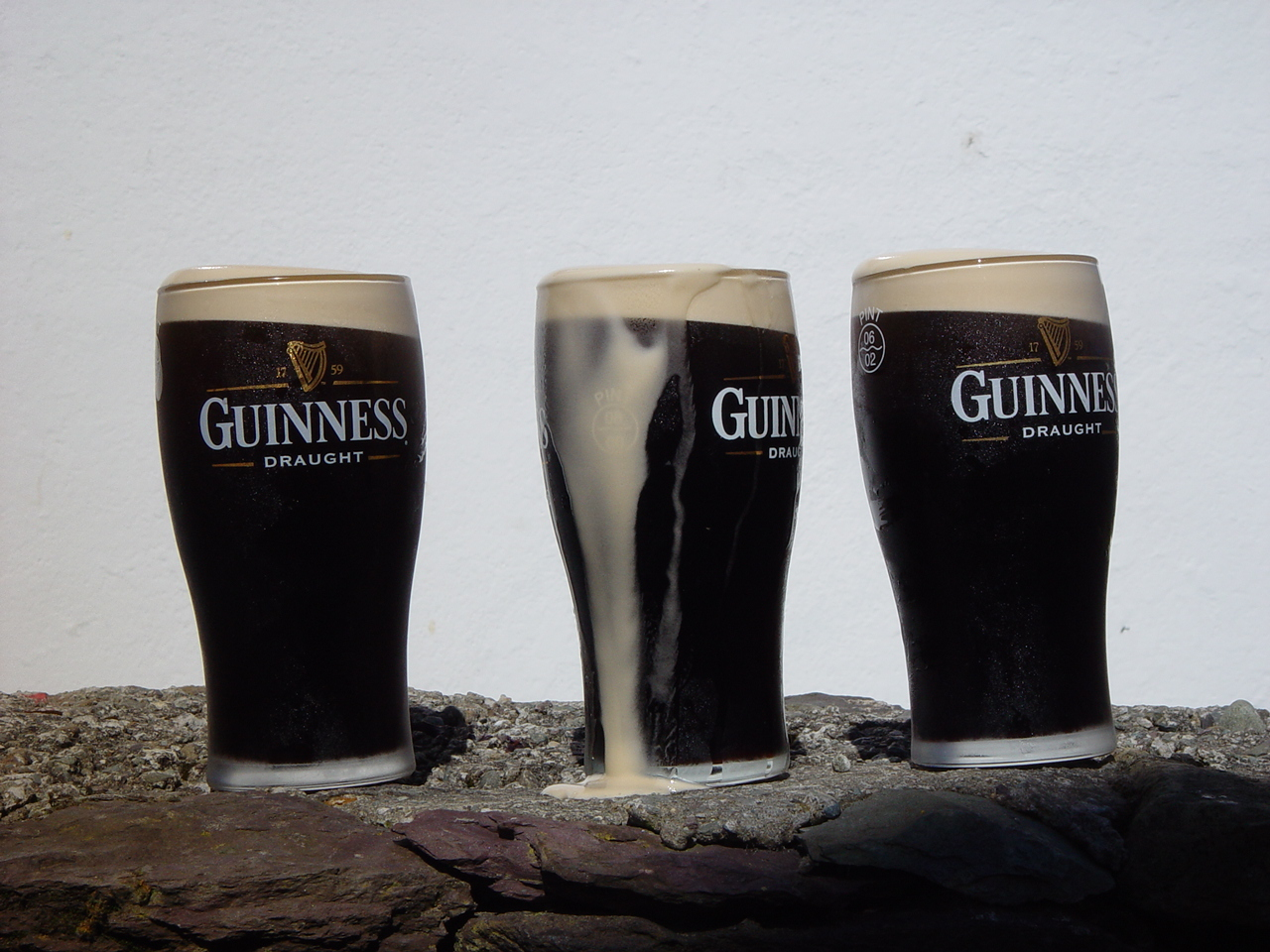 Three Pints ??of Guinness...