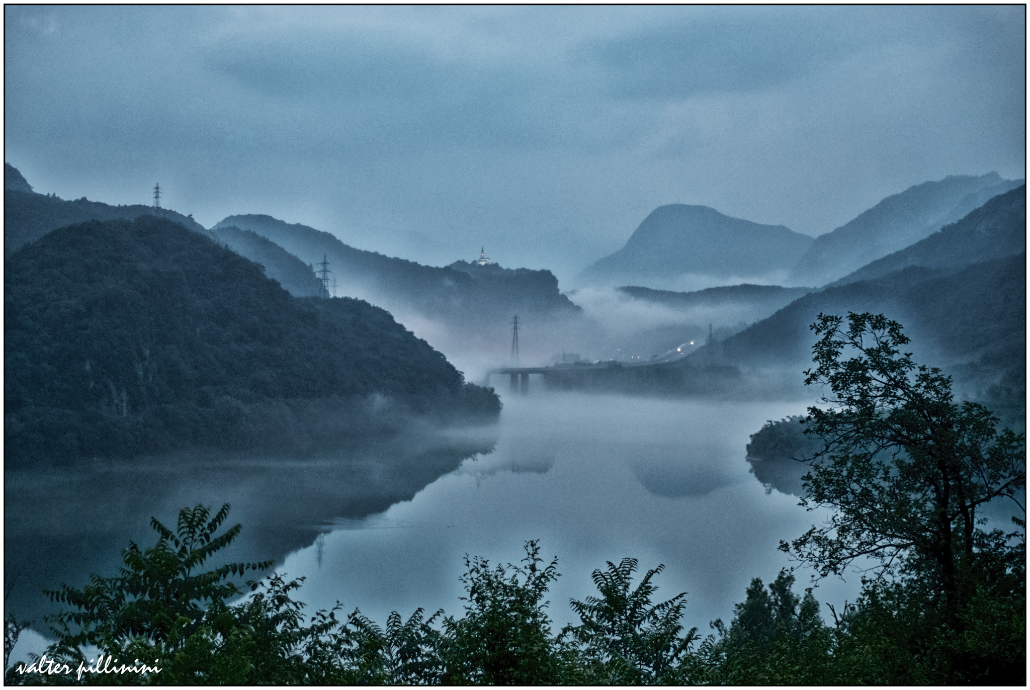 Fog on the lake....