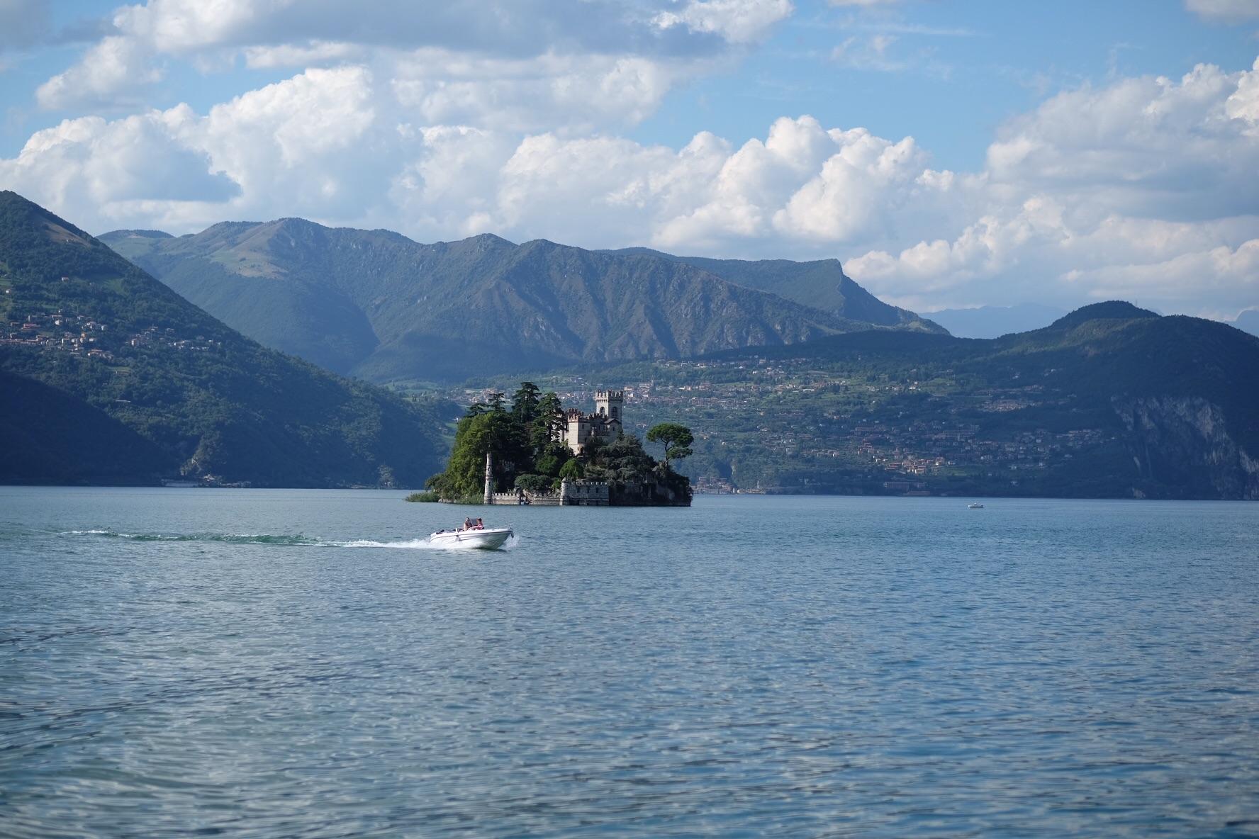 Isola di Loreto Lago d'Iseo...