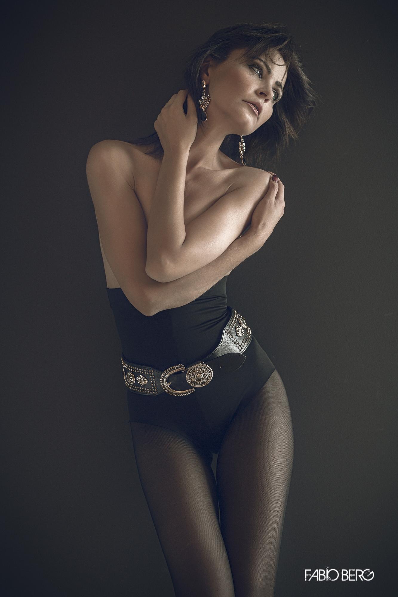 Model Natasha Guarnieri...