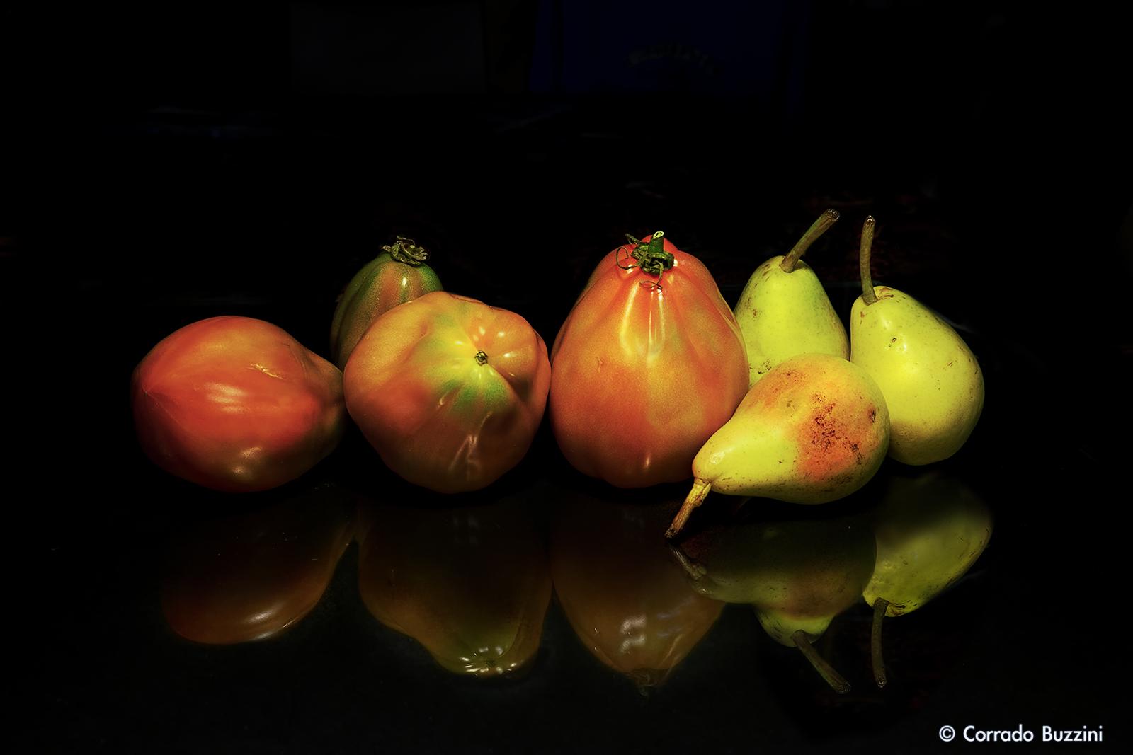 Fruits and vegetables - still live...