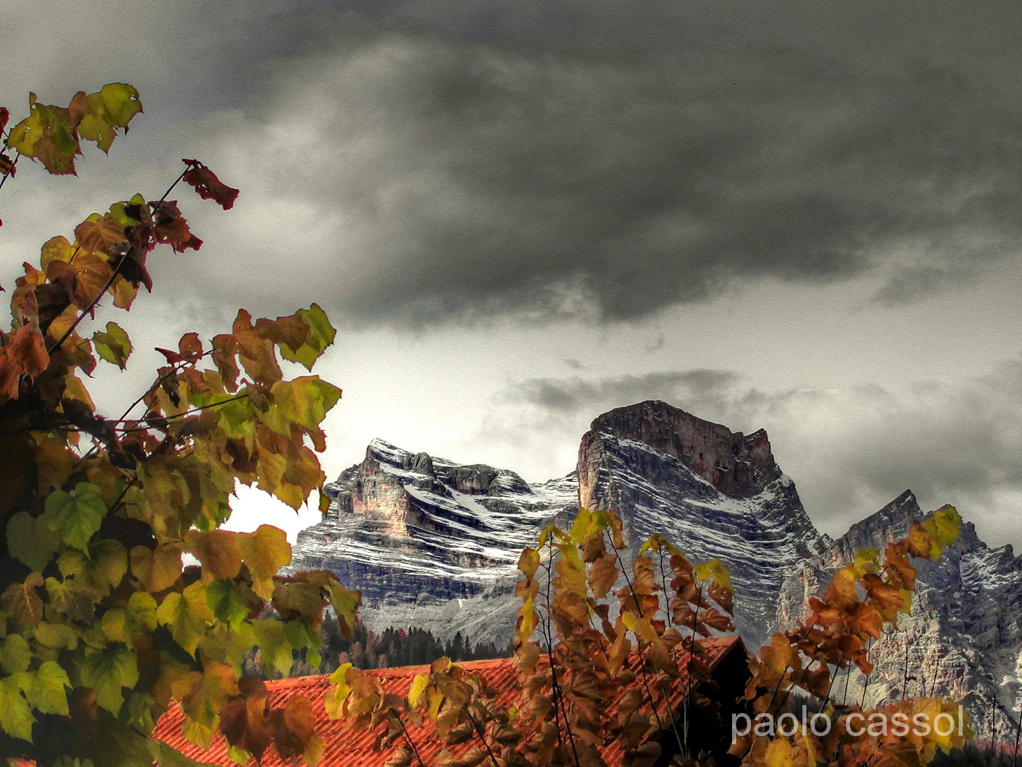 autunno sul Monte Pelmo (bl)...