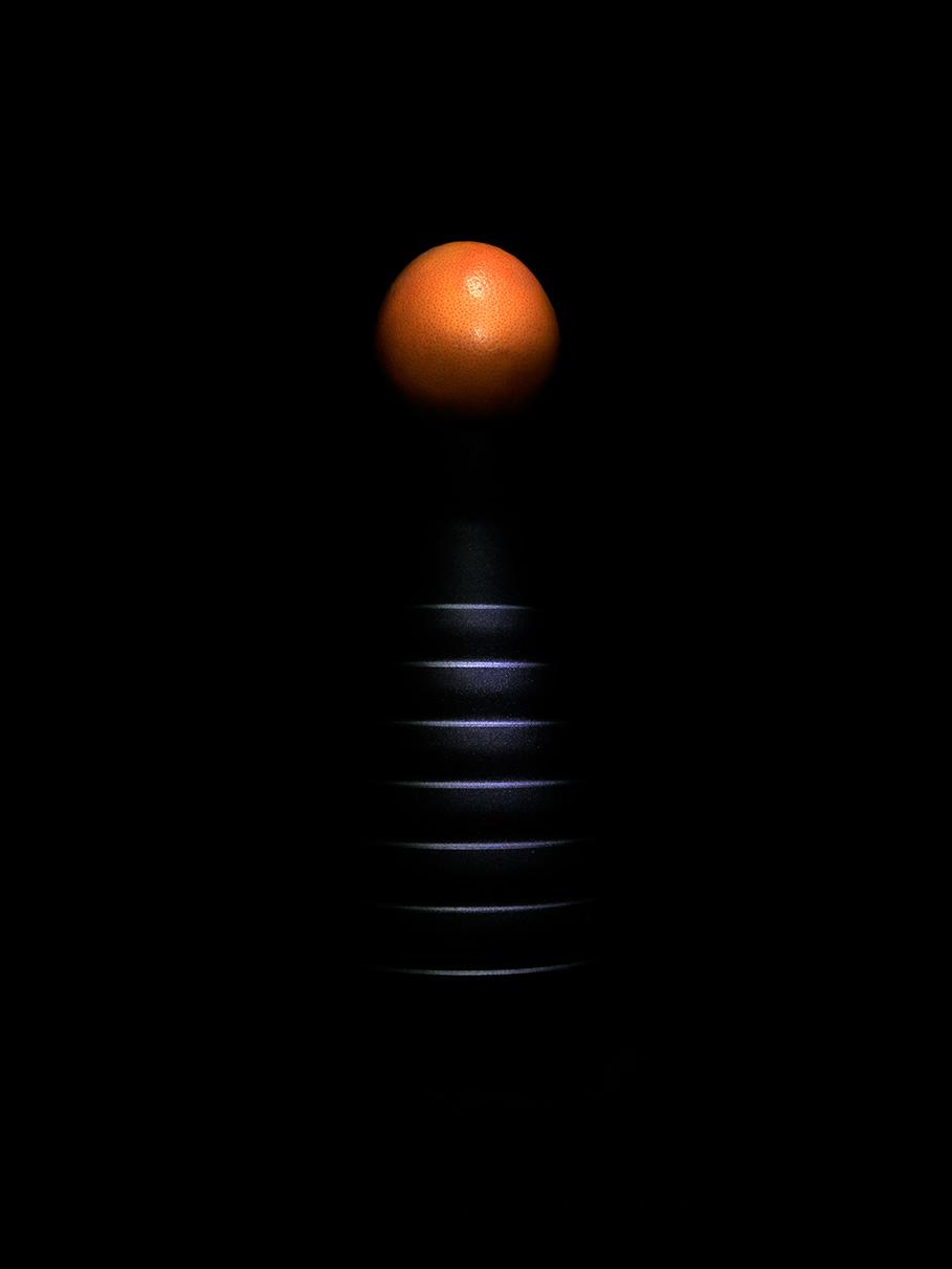 Orange moon...