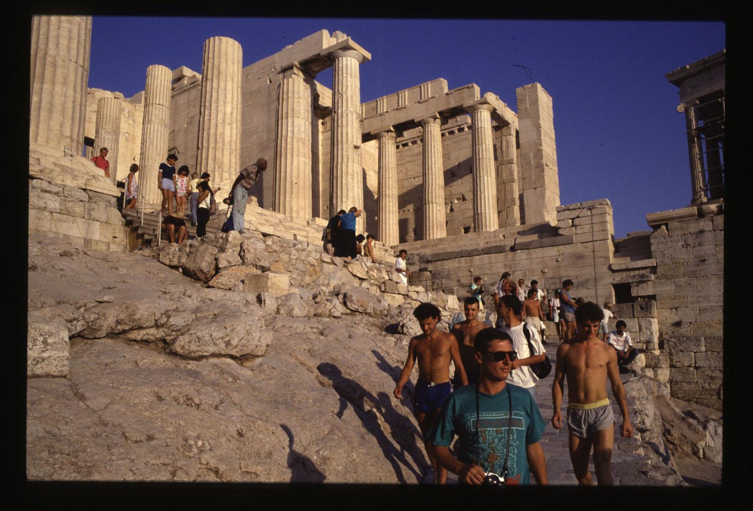 Athens, the Parthenon...