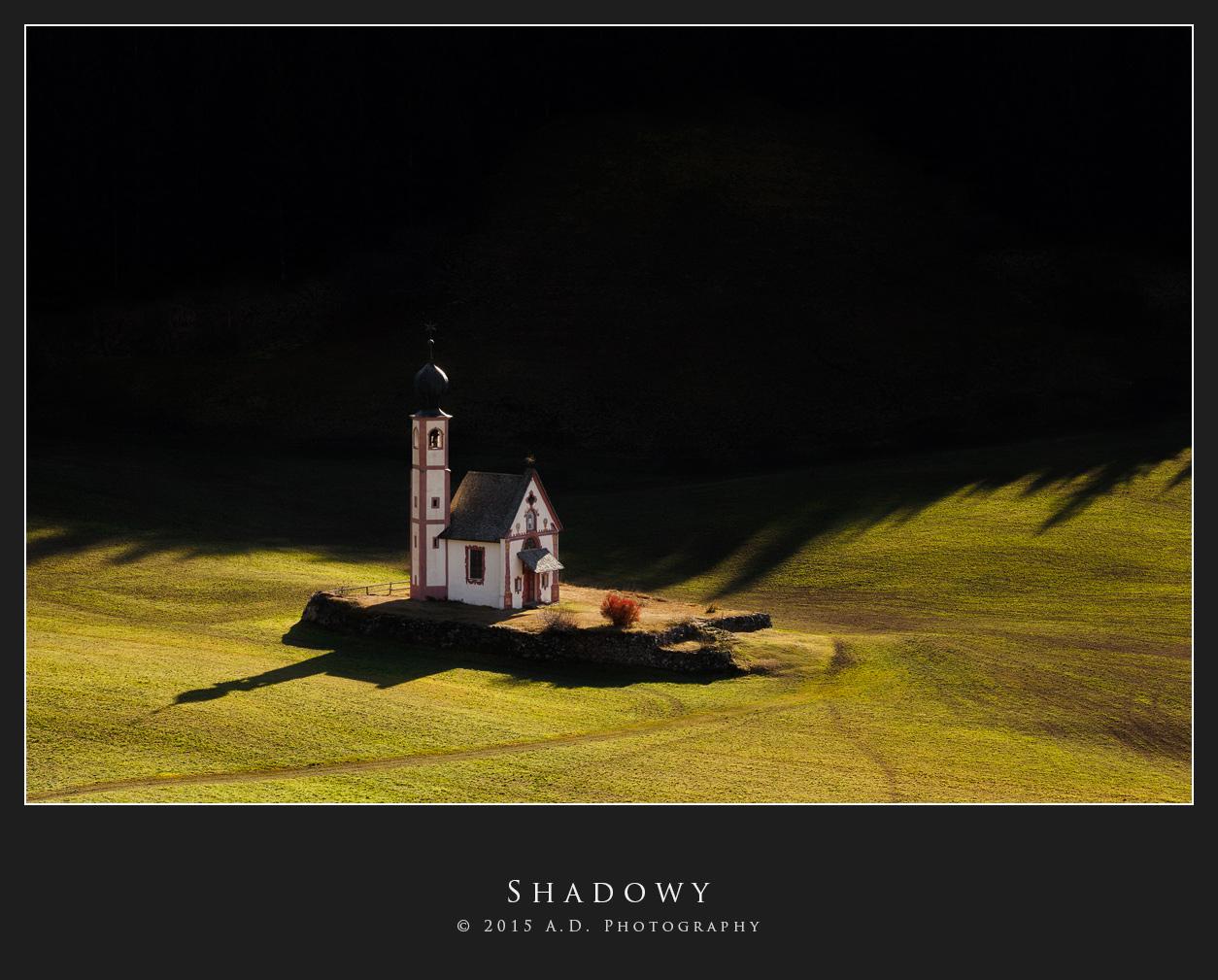 Shadowy...