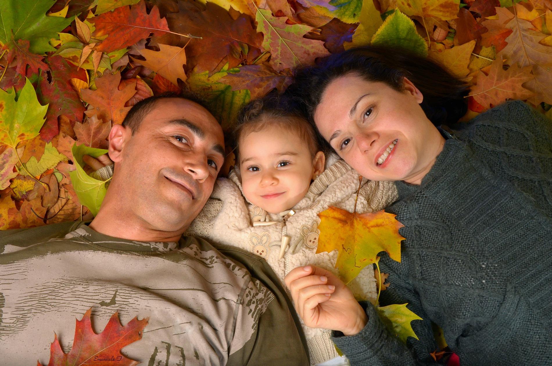 Self-portrait of family...