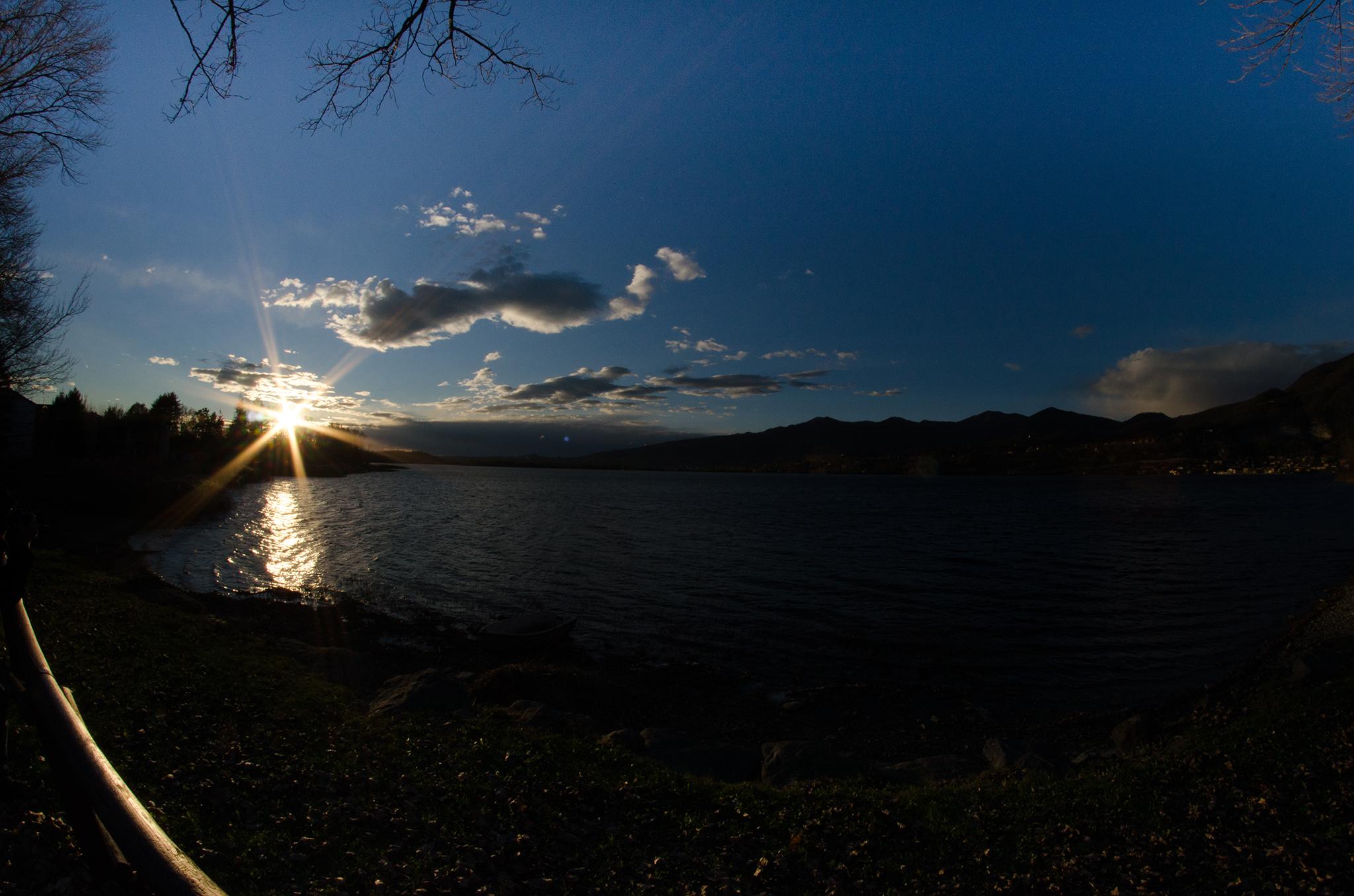 Lake Pusiano...