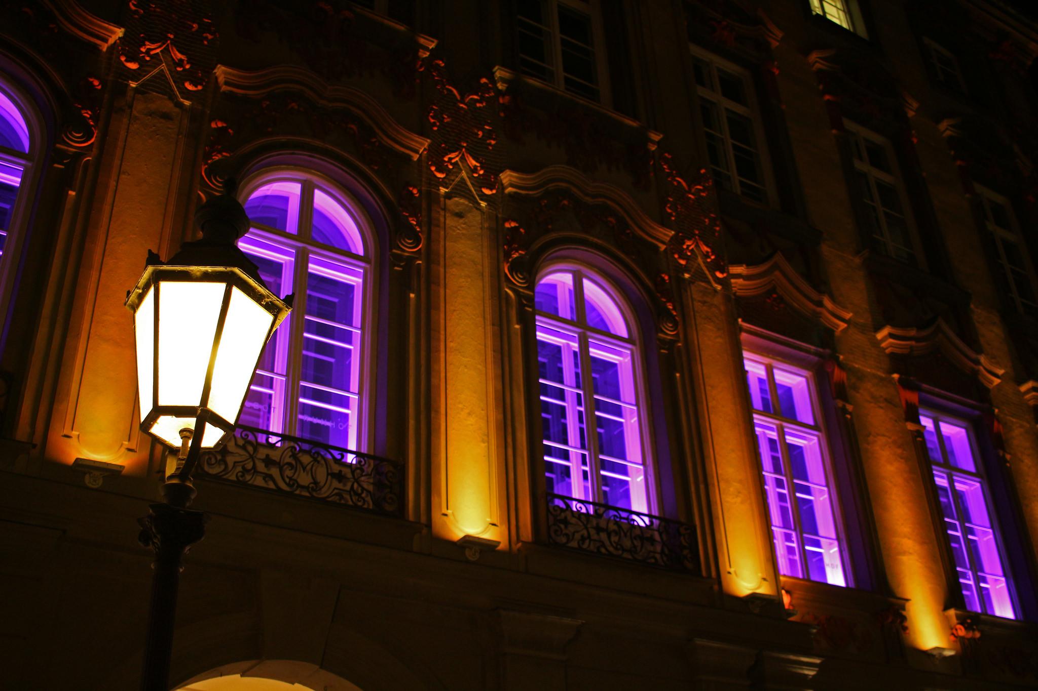 The lights of Monaco...