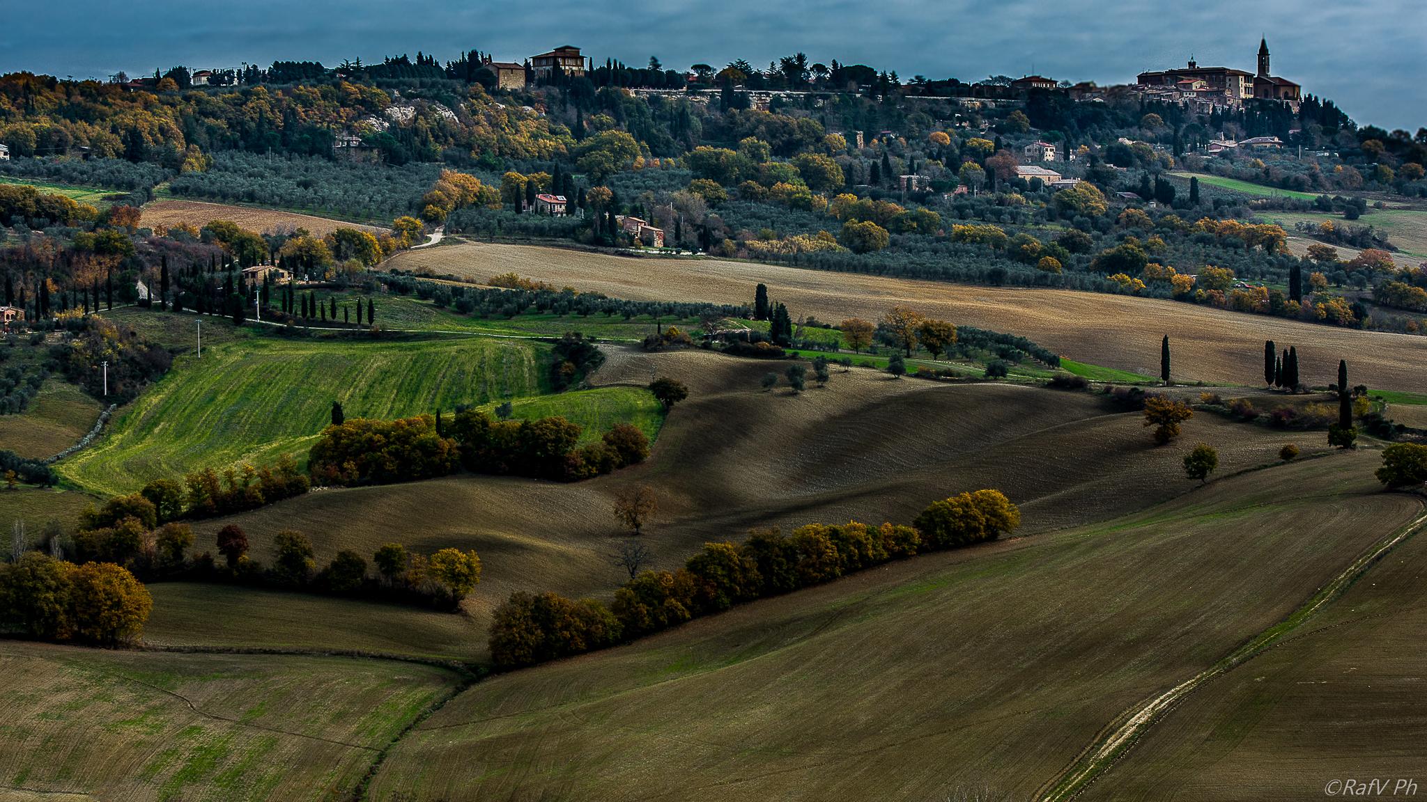 Autumn in Pienza...