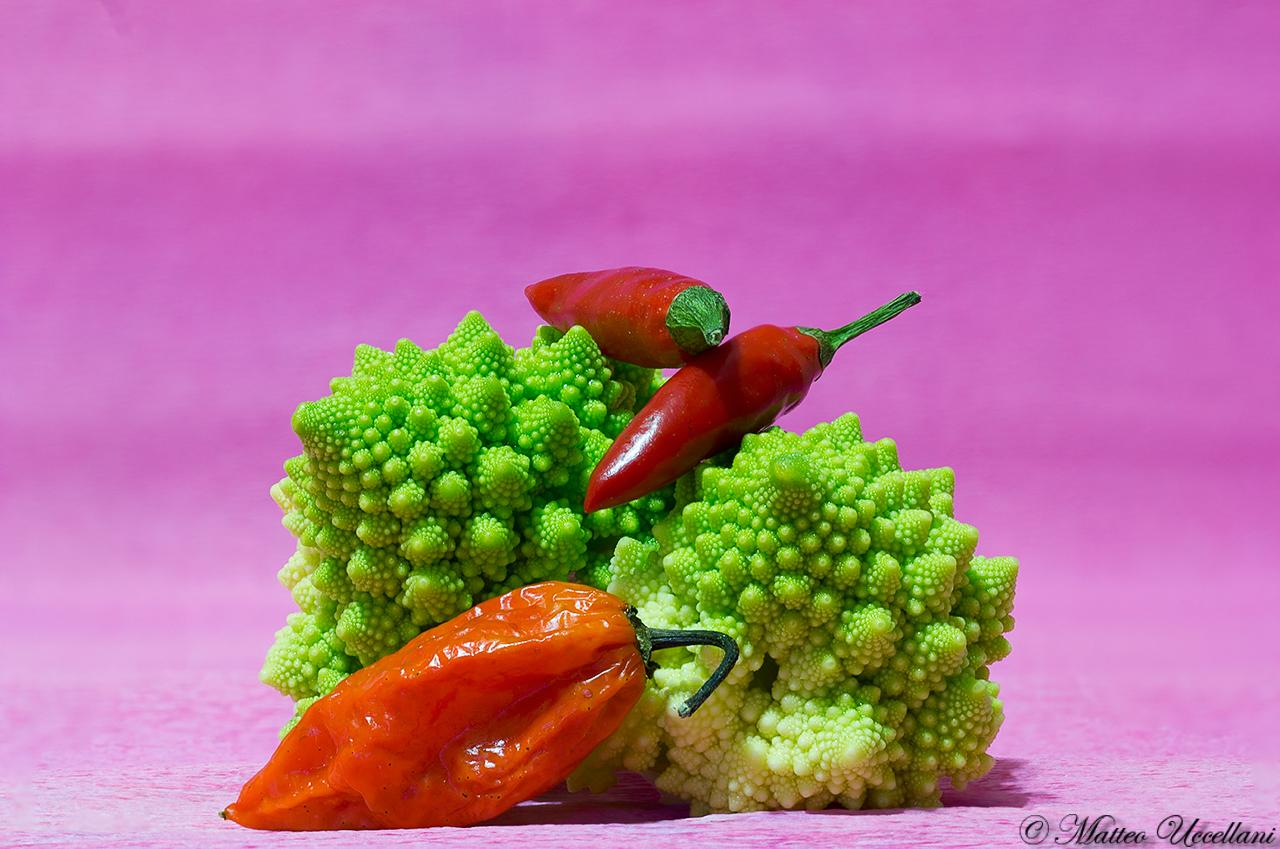 Spicy broccoli...