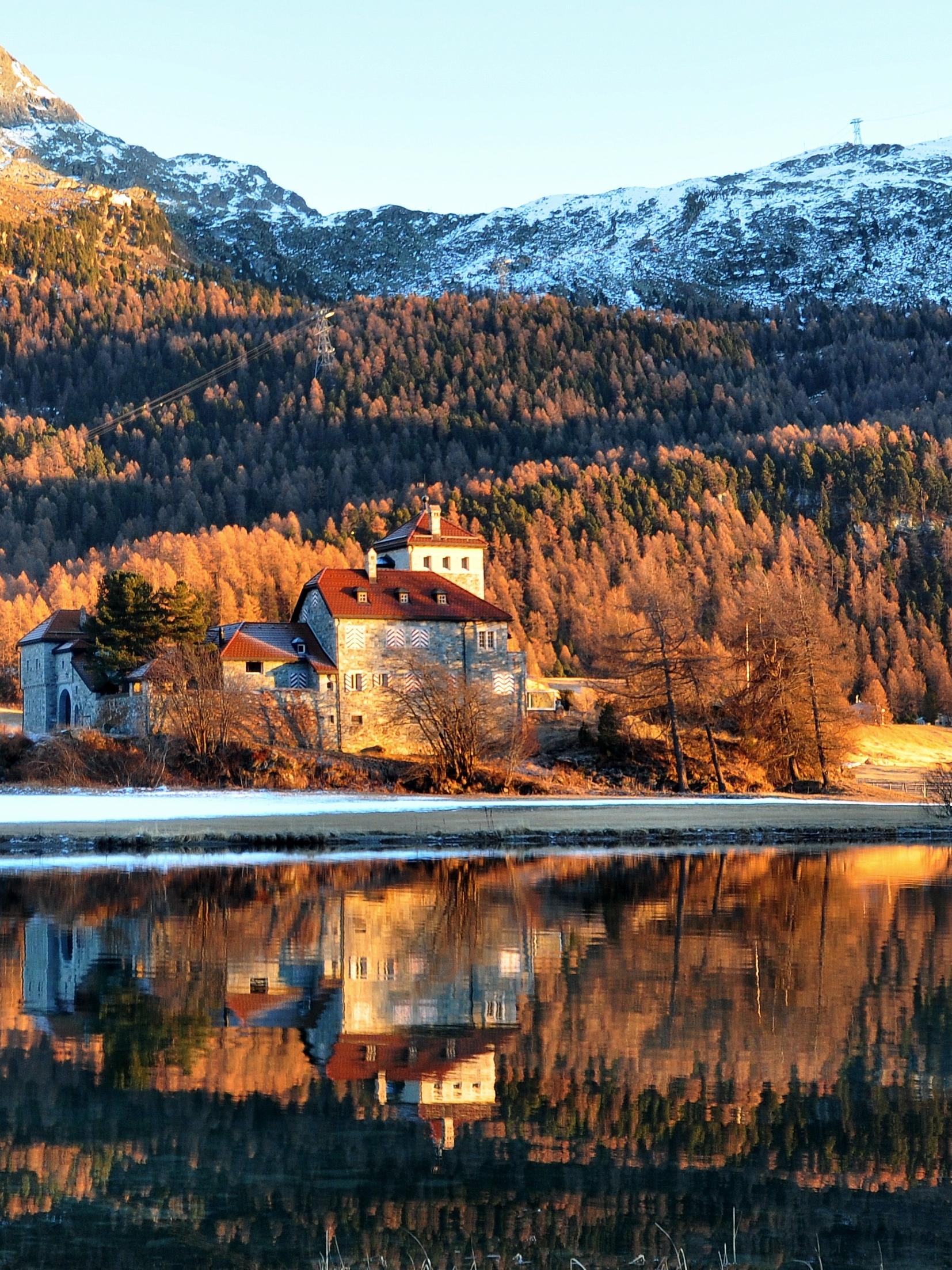 Alpine lake...