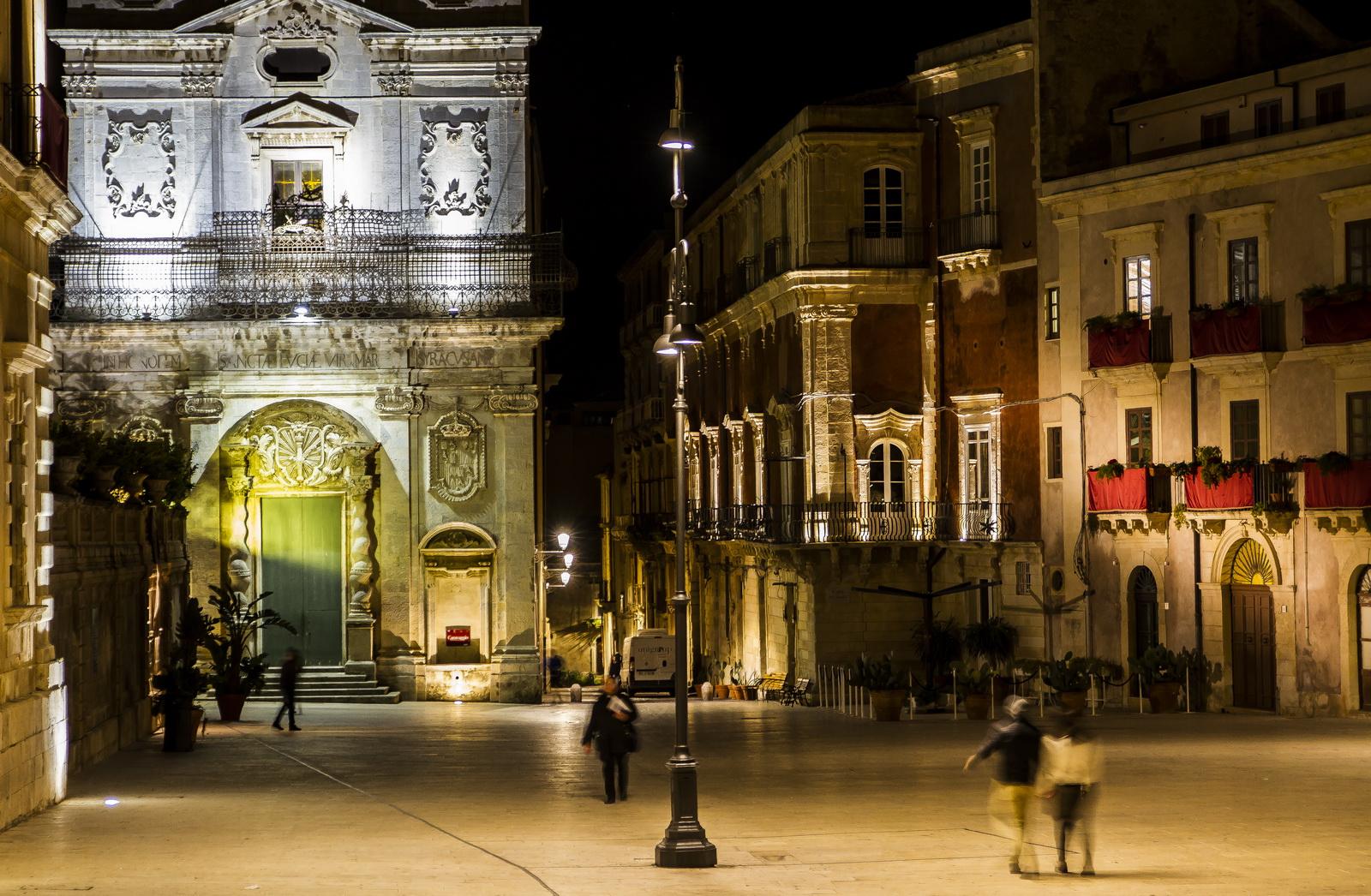 Ortigia by night...