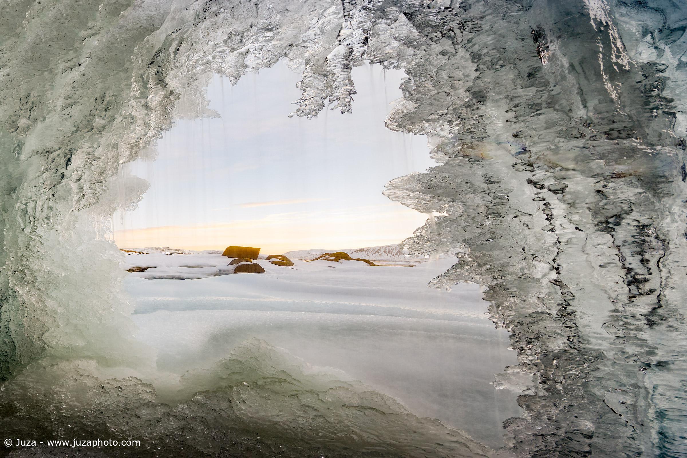 The door of ice...