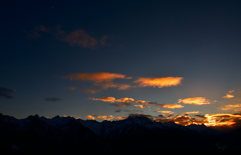Sunset in Val di Sole....