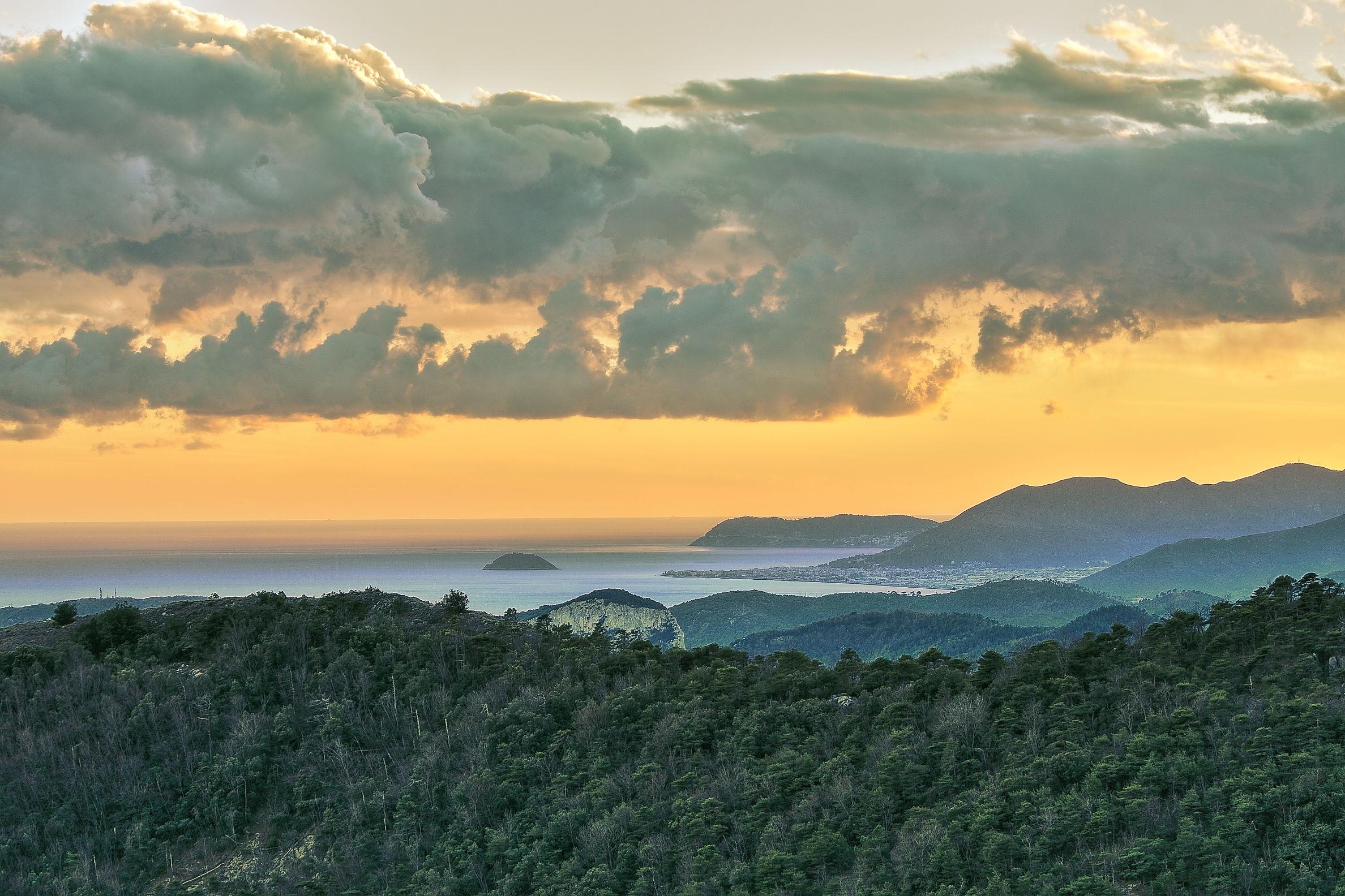 Liguria west coast...