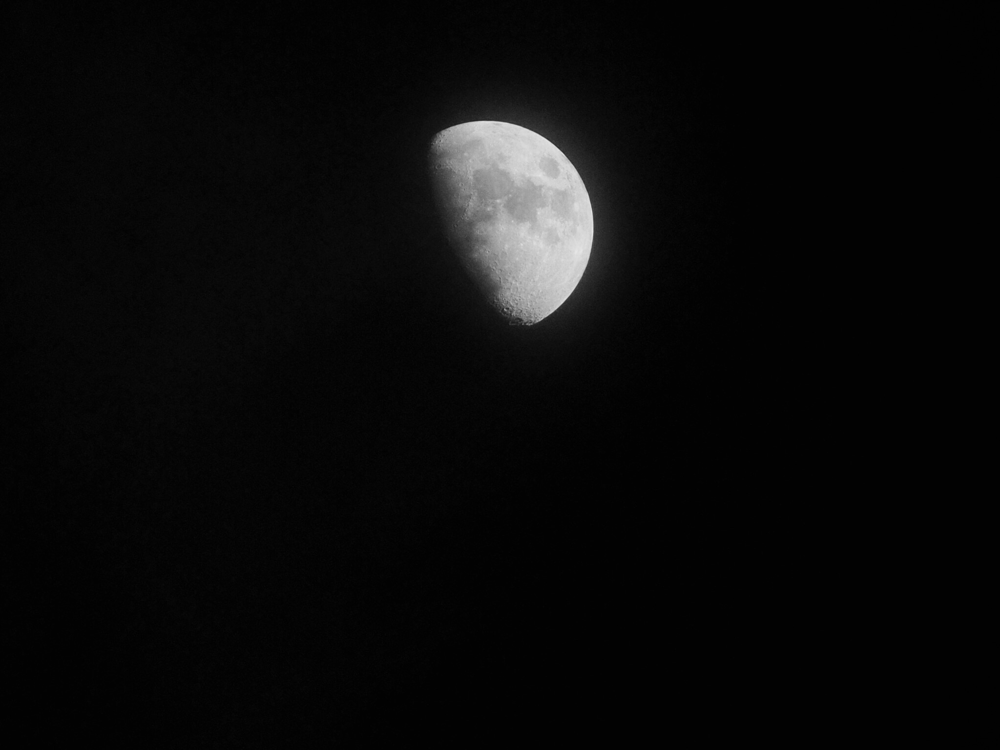 My first moon .....