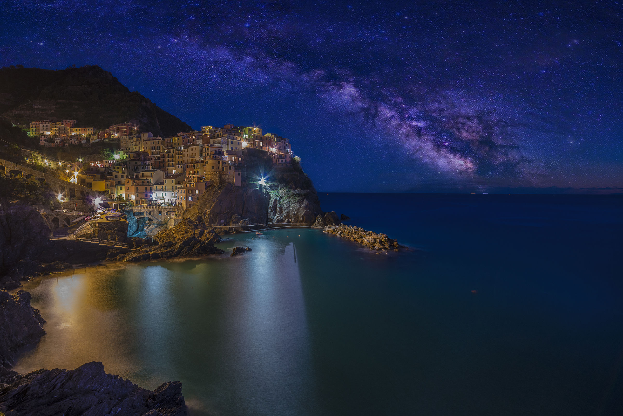 Manarola By Night...