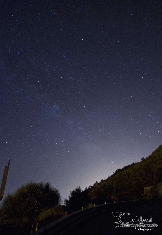 Milky Way - First Test...