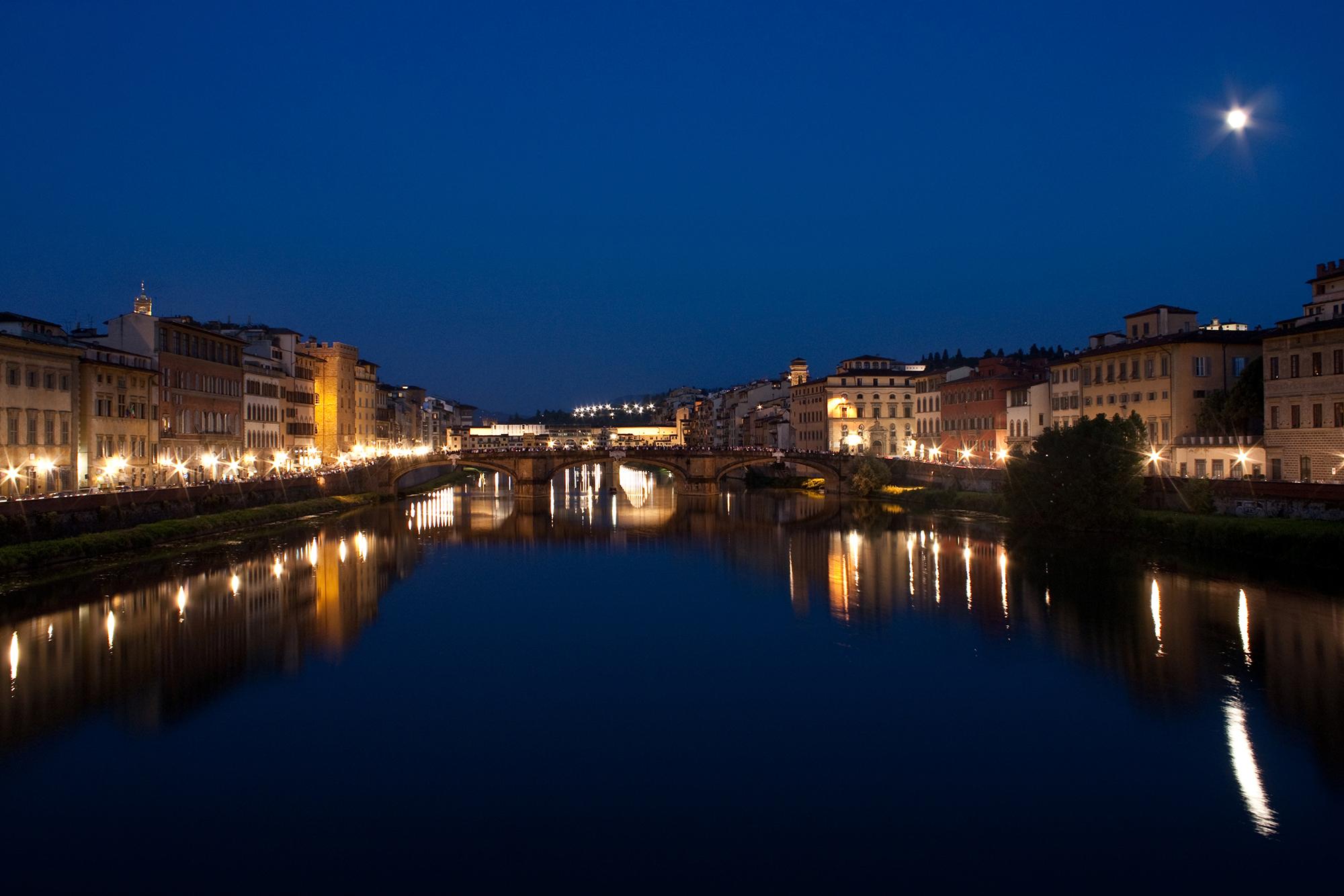 L'Arno di notte.....