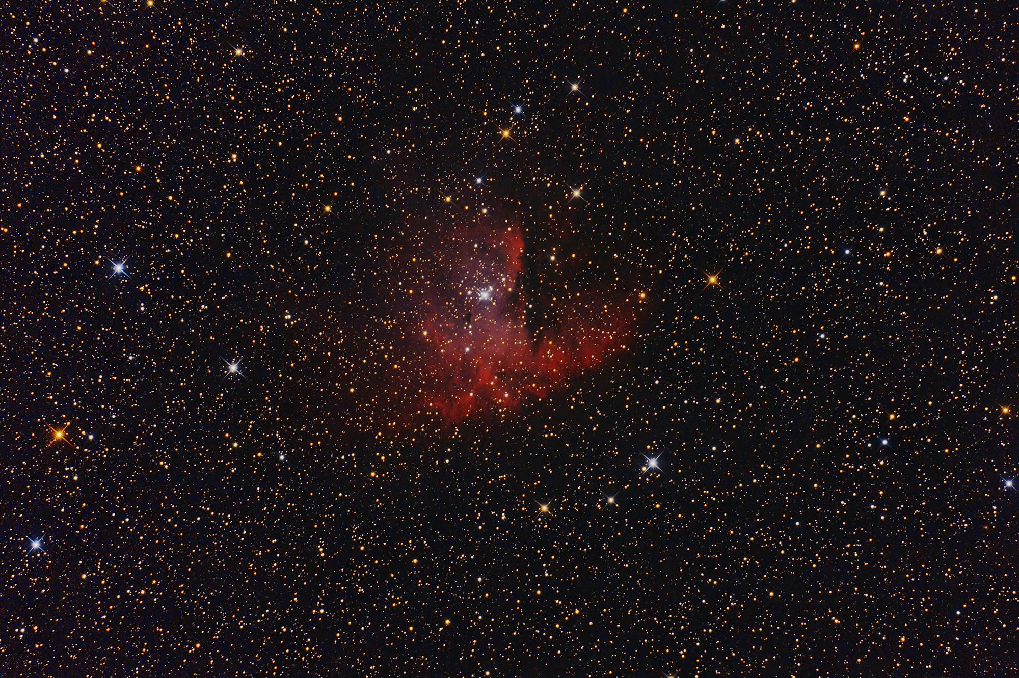Nebulosa Pacman NGC 281...