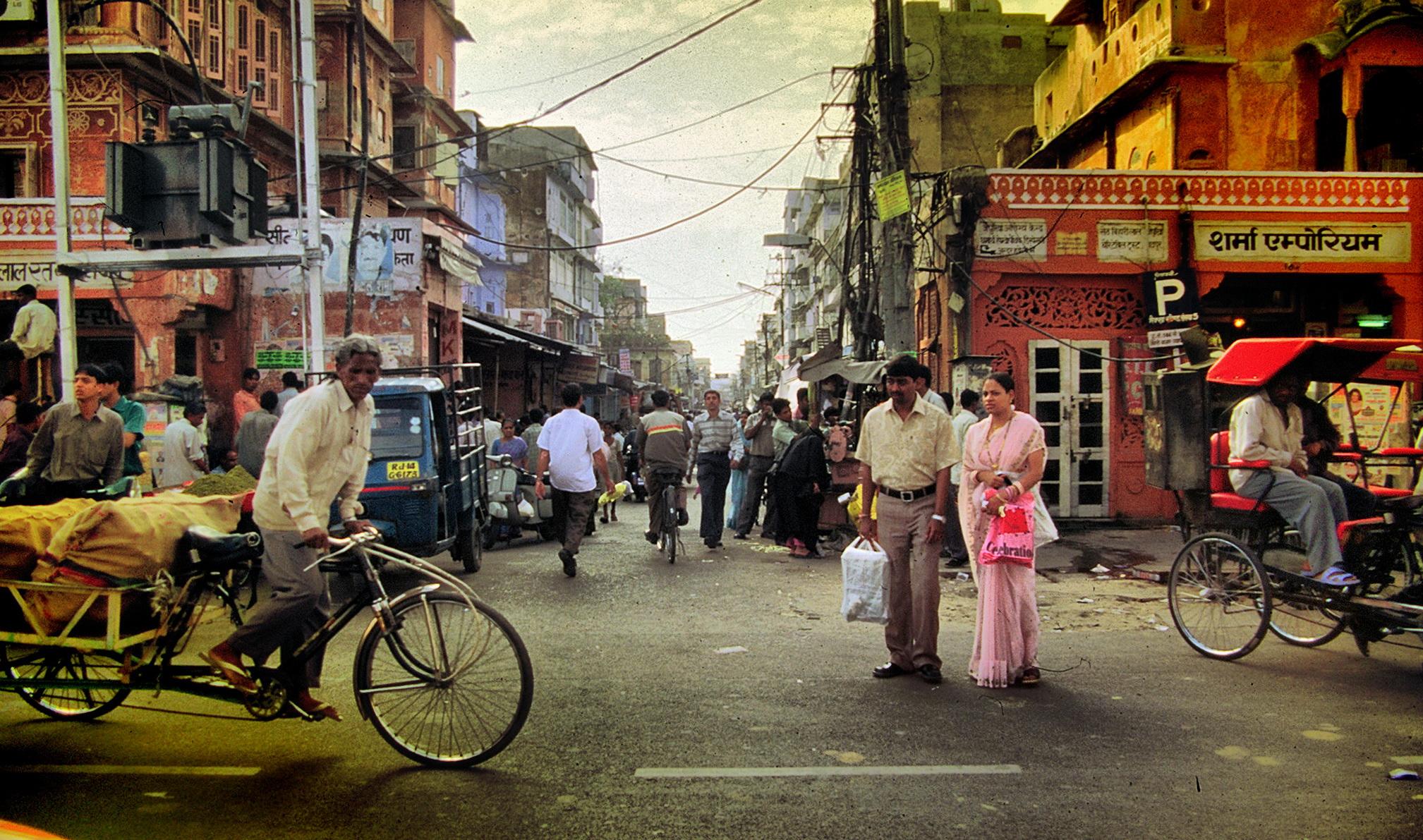 Varanasi street HDR...