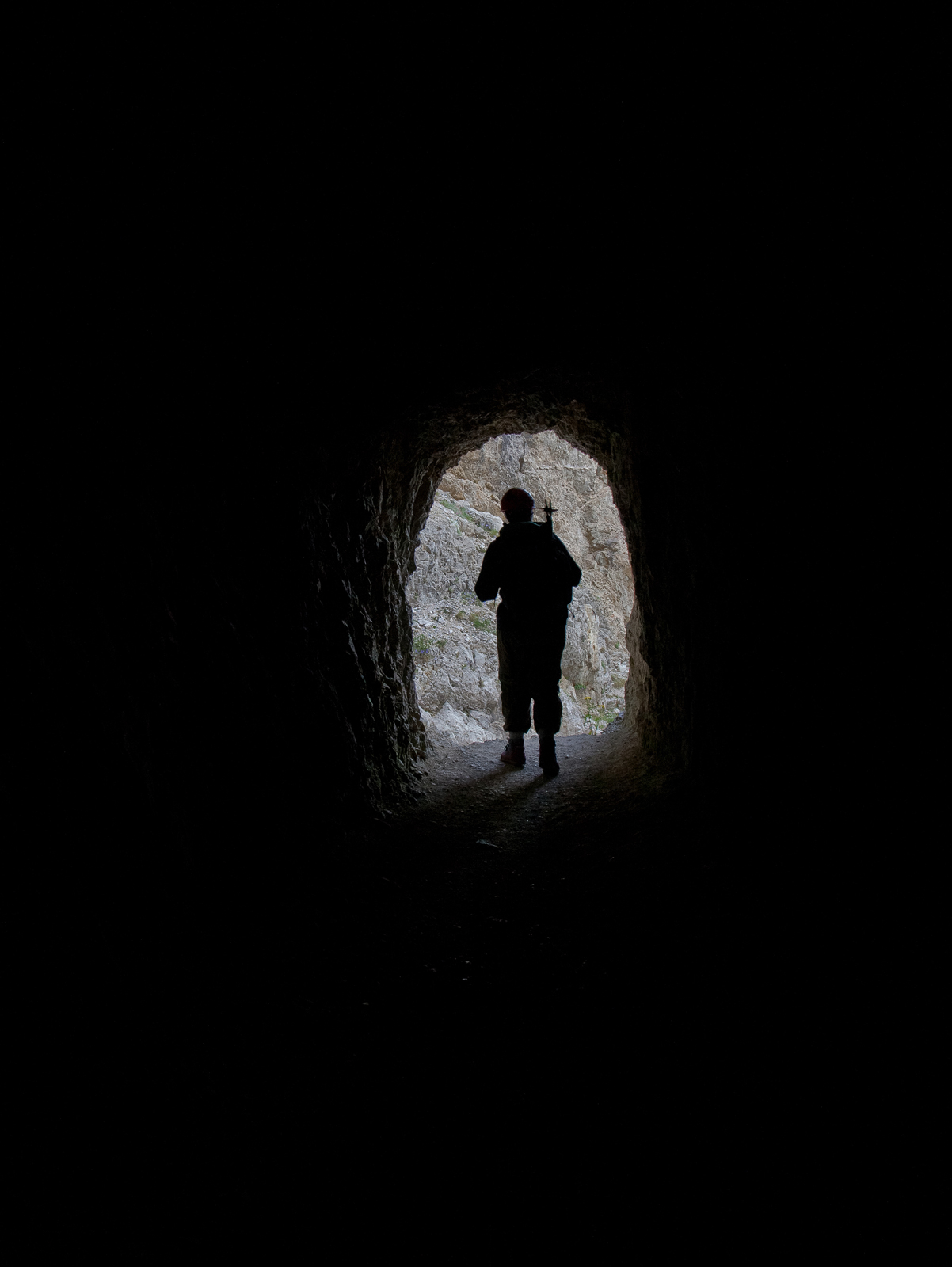 At the end of a long dark tunnel, the light of hope...