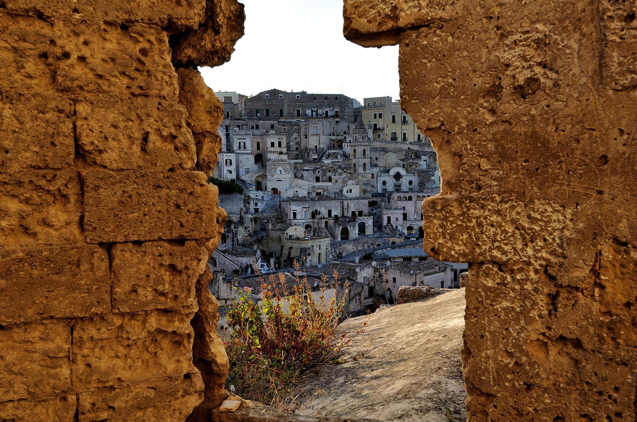 The Sassi of Matera...