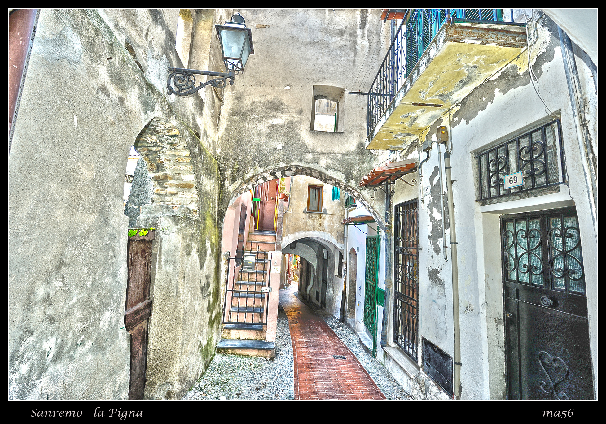 Sanremo - the Pigna (old town) HDR...