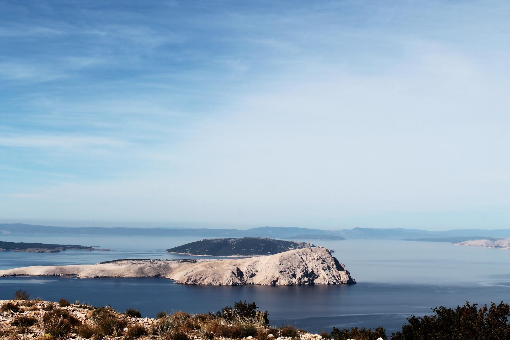 Island of Pag, Croatia...