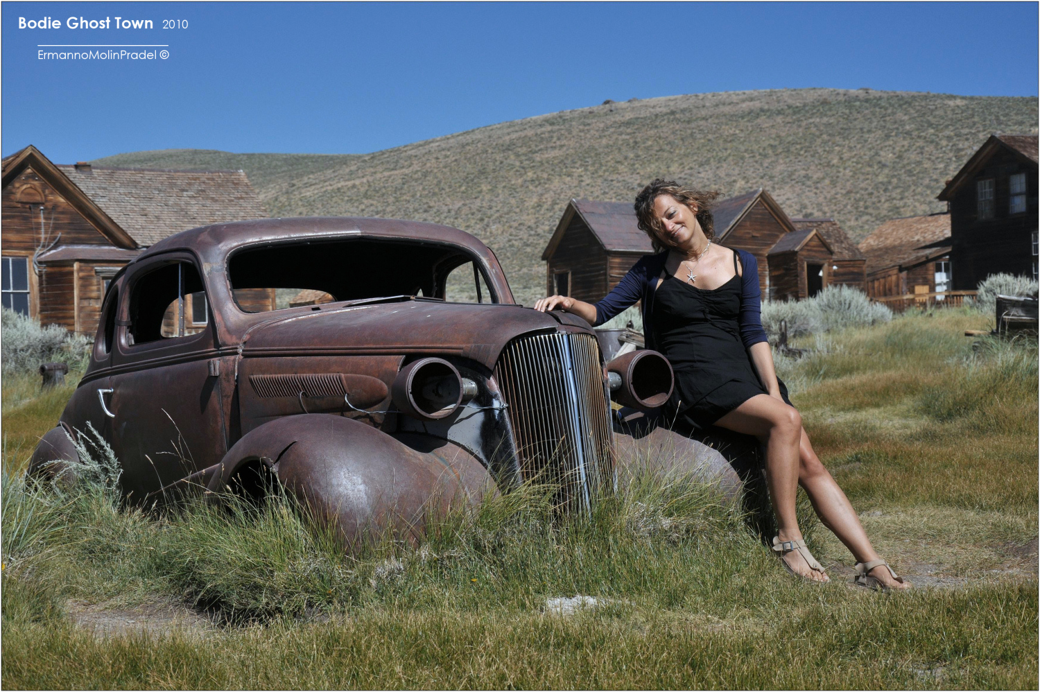 Cowgirl in Bodie.....