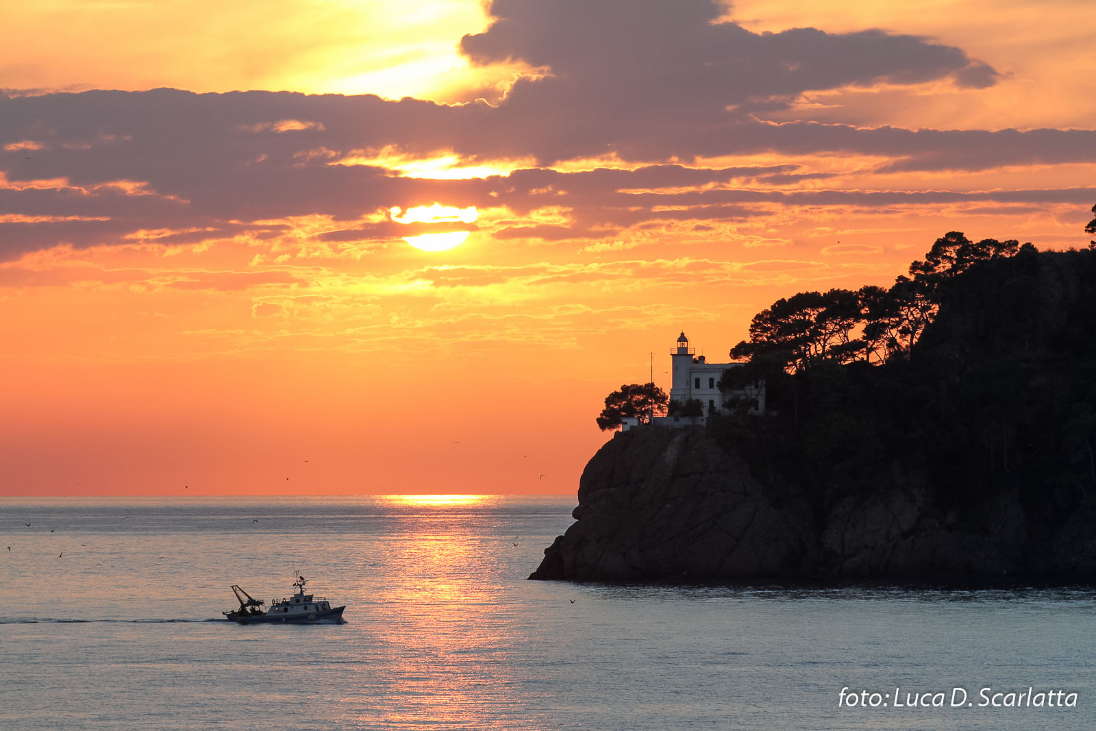 Arriving in Portofino...