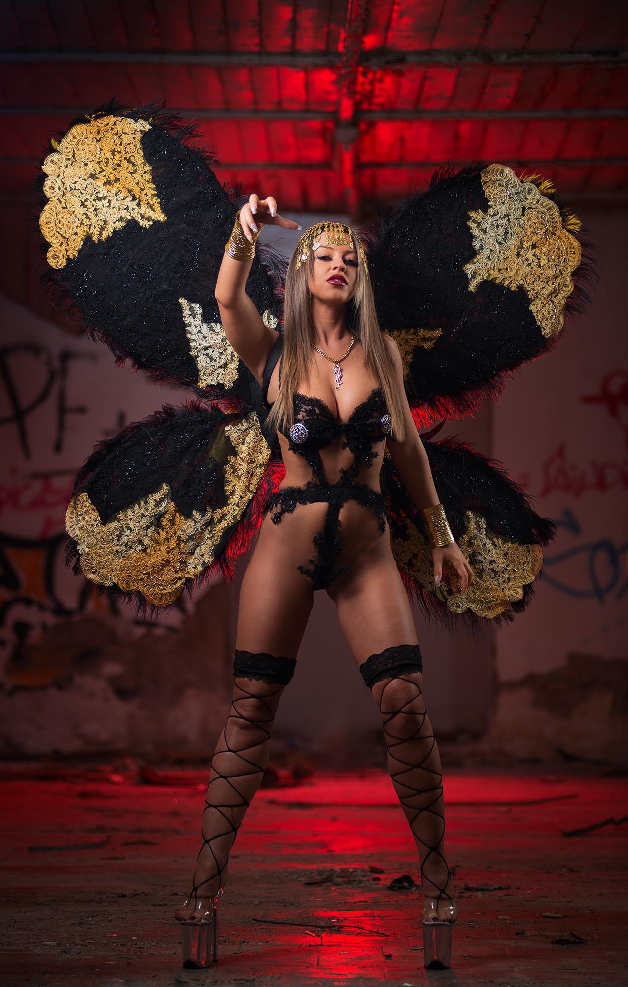 A Butterfly Goddess...