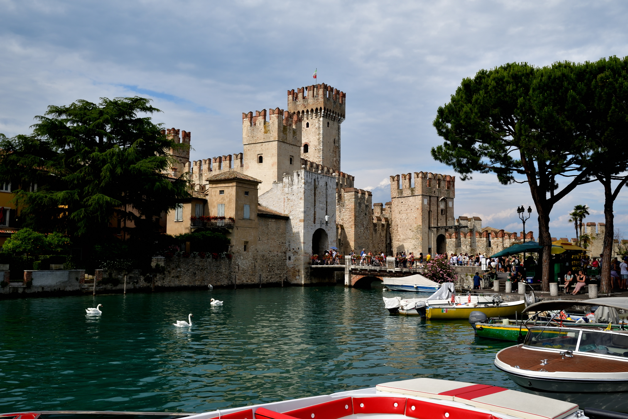 Sirmione the Castle...