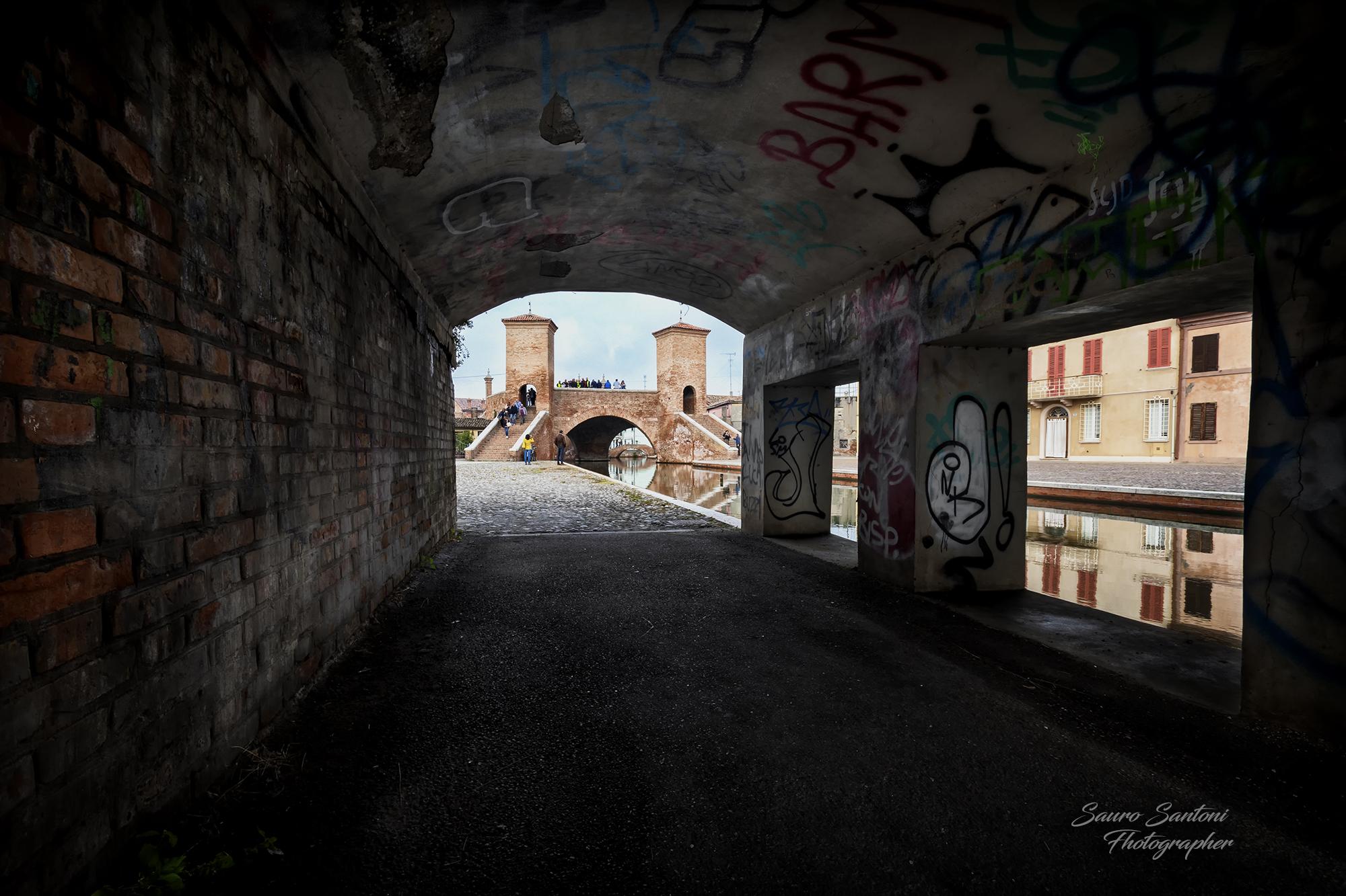 Tre ponti Comacchio...