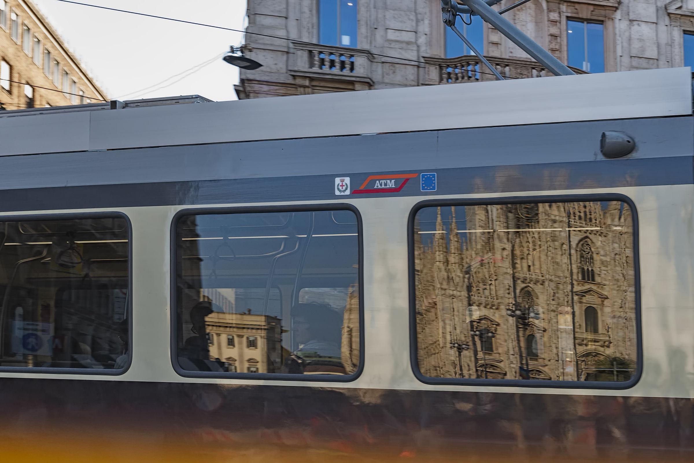 Milan by tram...