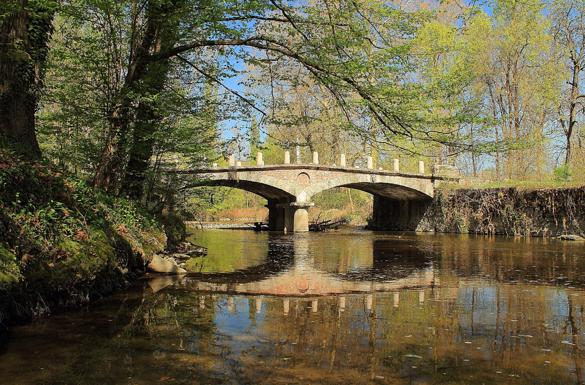 bridge park of Monza...