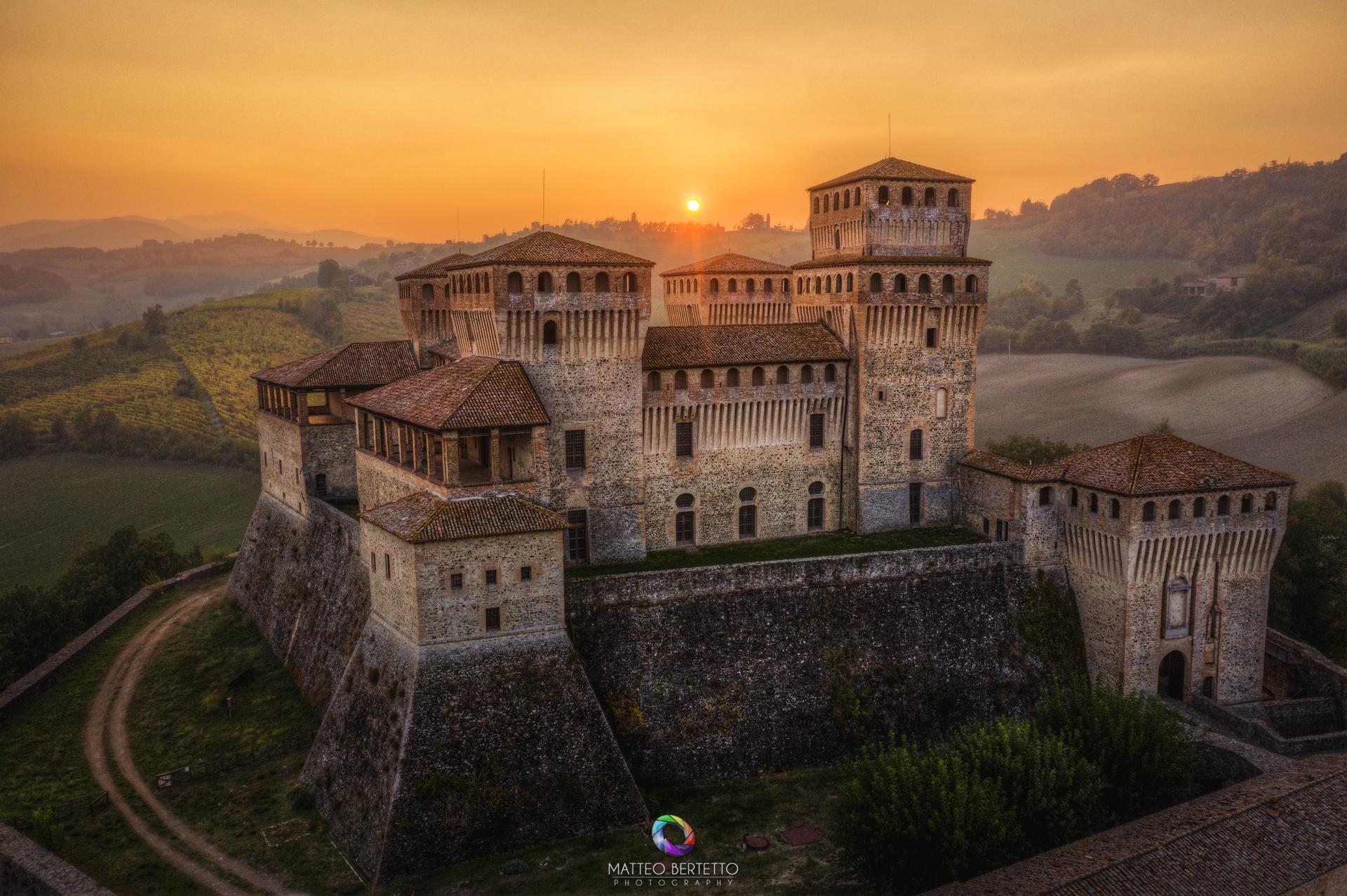 Castle of Torrechiara-Langhirano (Parma)...