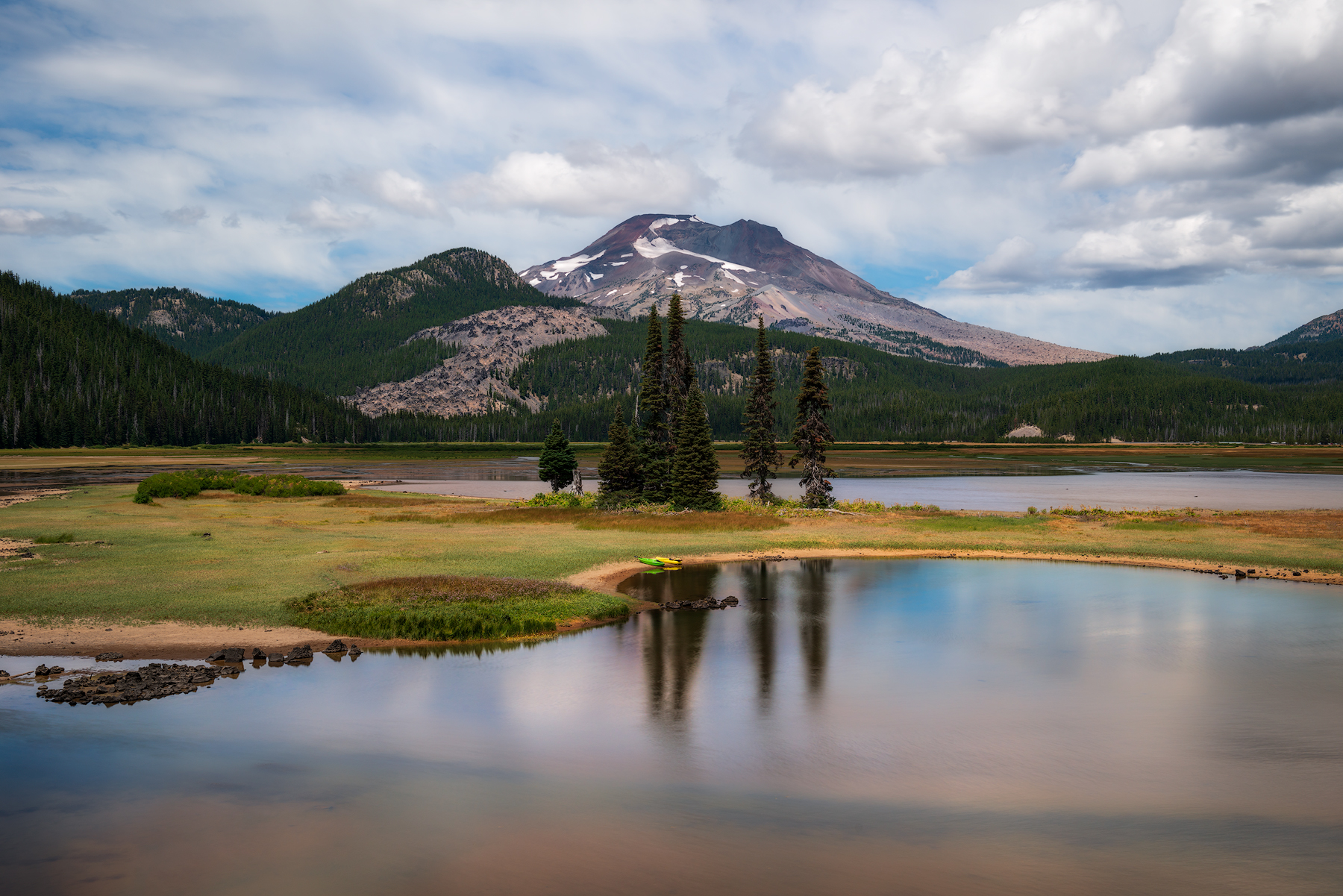 Sparks Lake, Oregon...
