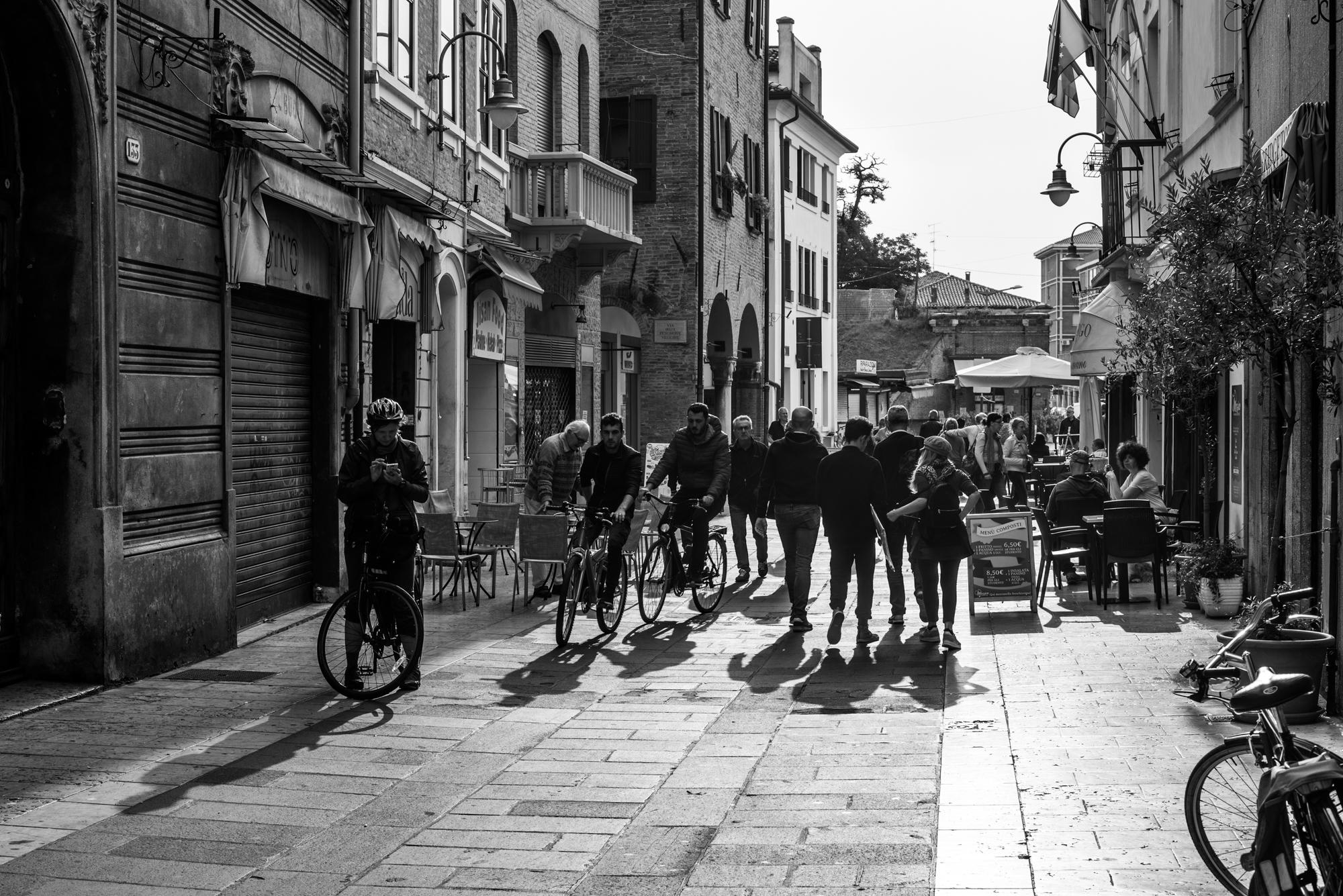Ferrara la città delle biciclette...