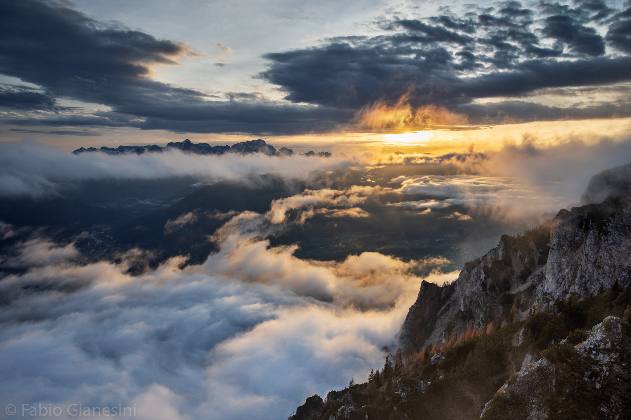 Above the Clouds ...