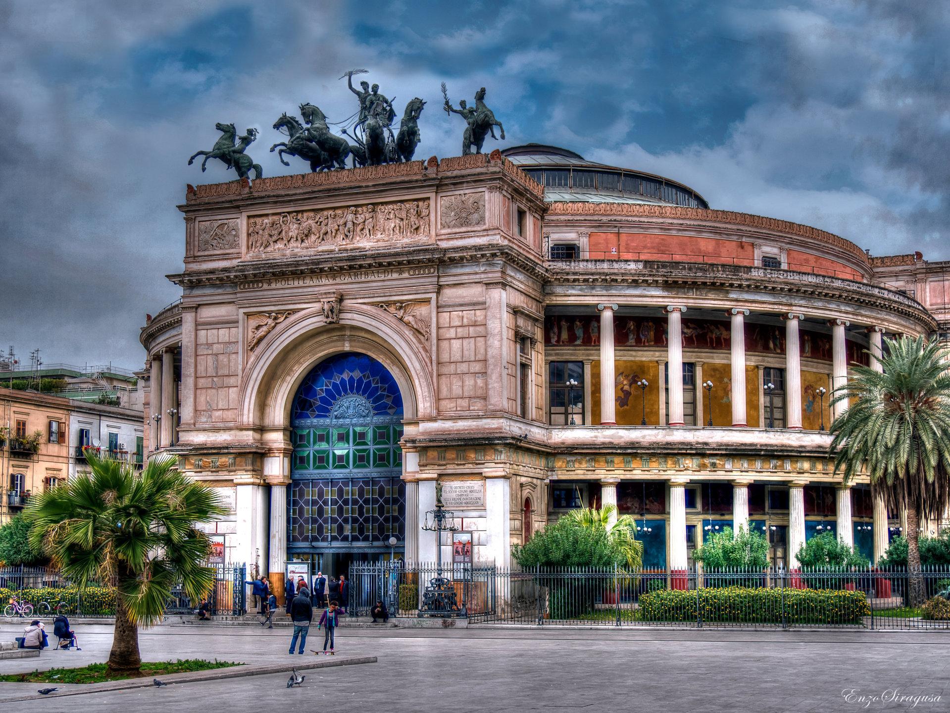 Teatro Politeama-Garibaldi 1861...